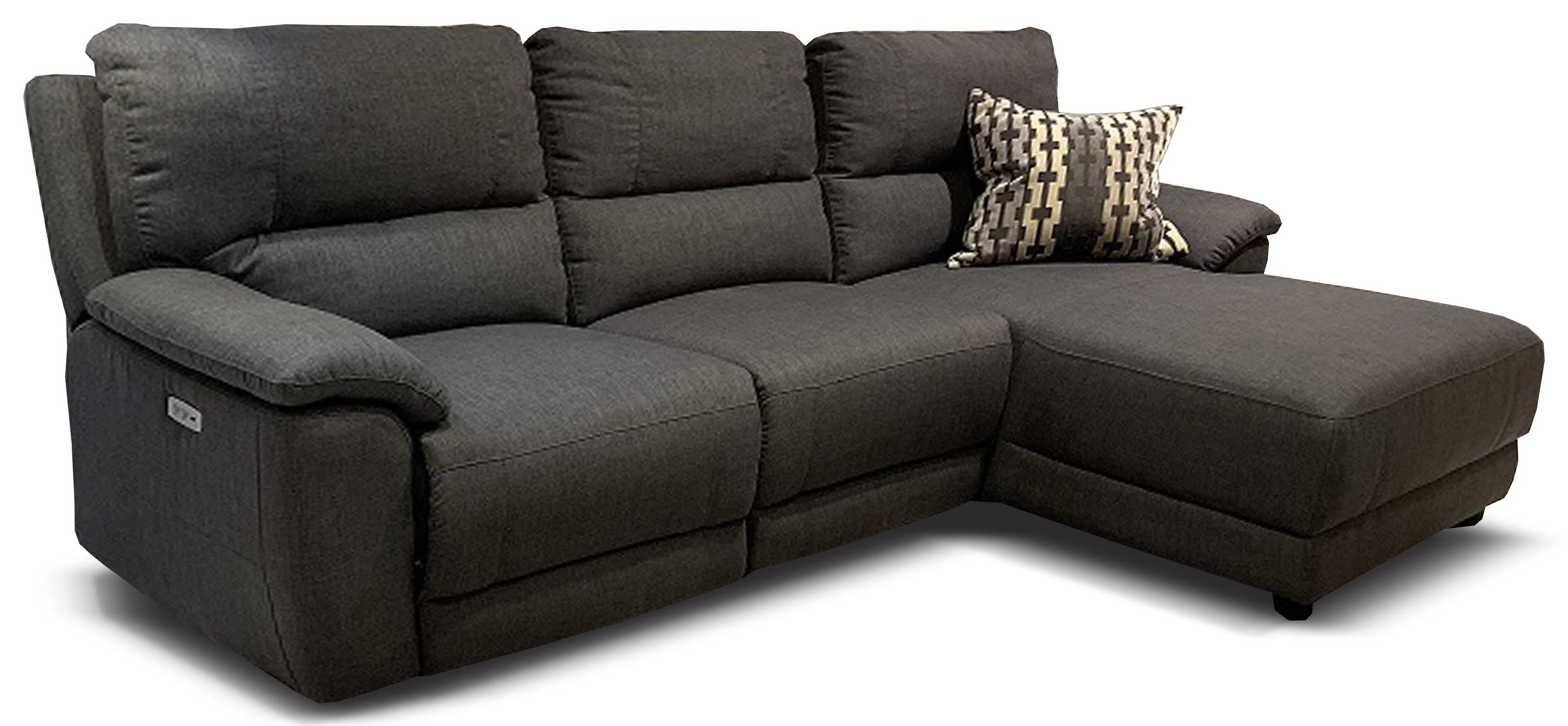 Cullen Cullen Power Sofa Chaise by Abbyson at Morris Home
