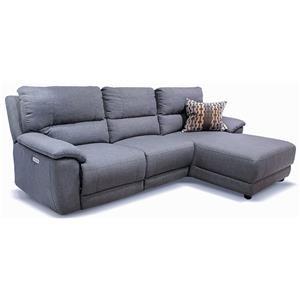 Cullen Power Sofa Chaise