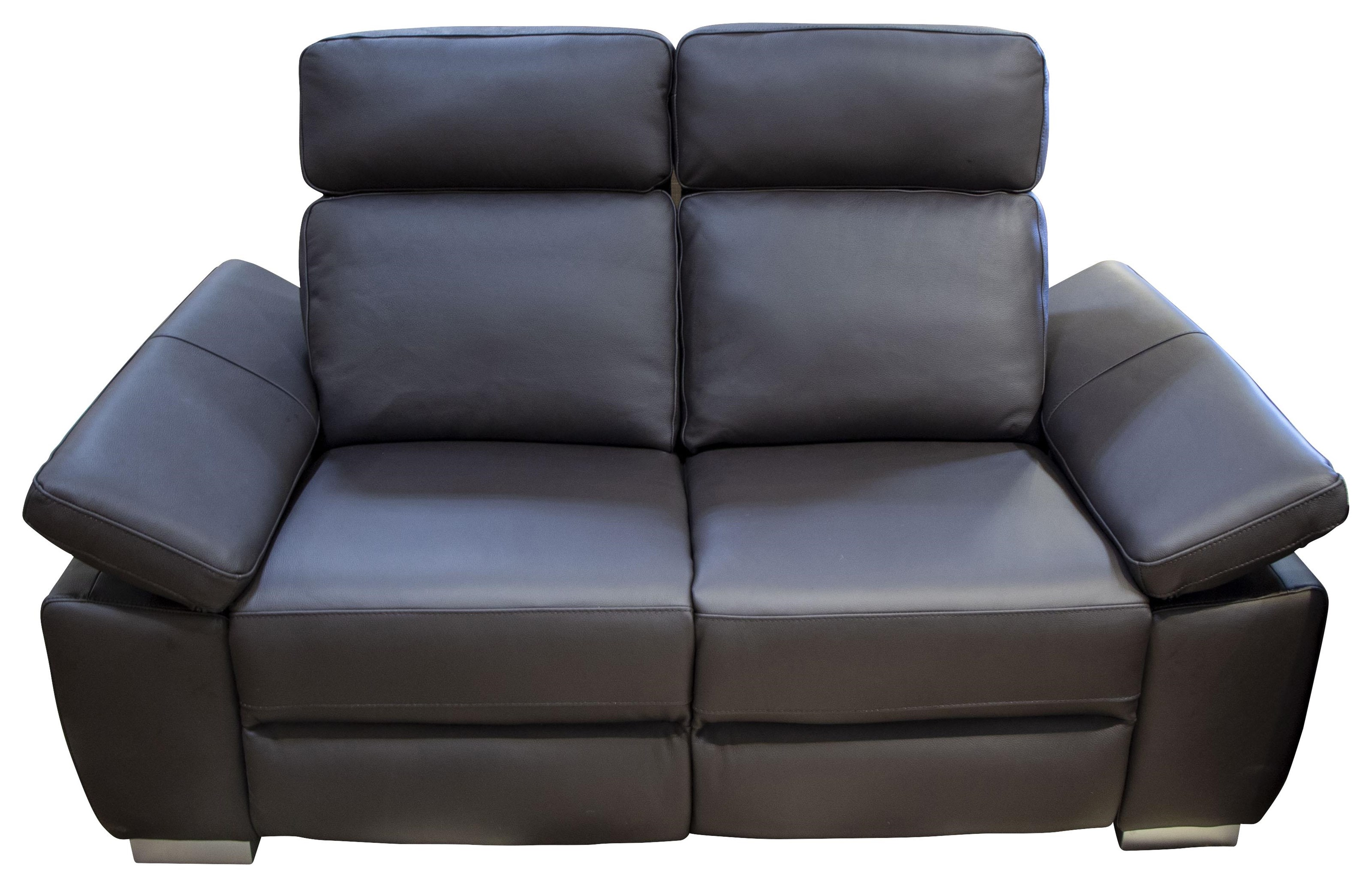Jove Jove Power Leather Loveseat by Abbyson at Morris Home