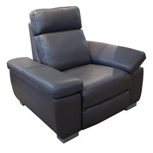 Jove Power Leather Recliner