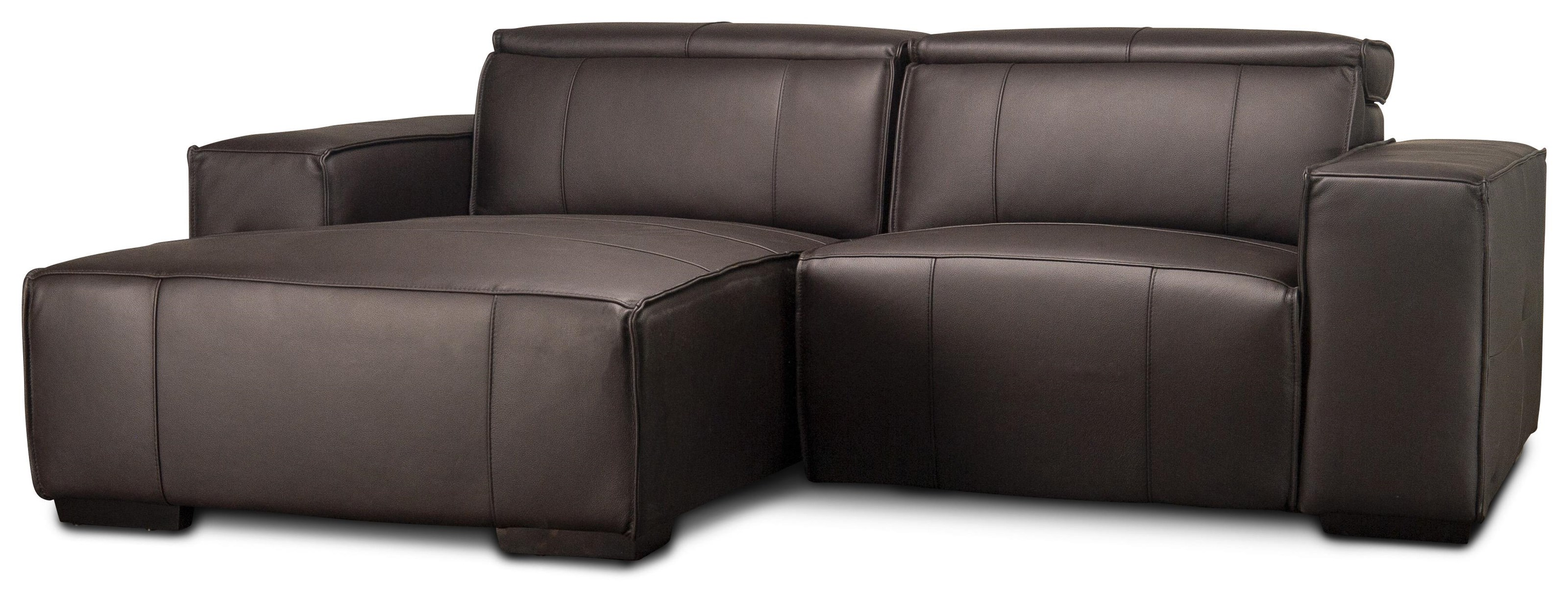 Mariella Mariella Leather Power Sectional by Abbyson at Morris Home