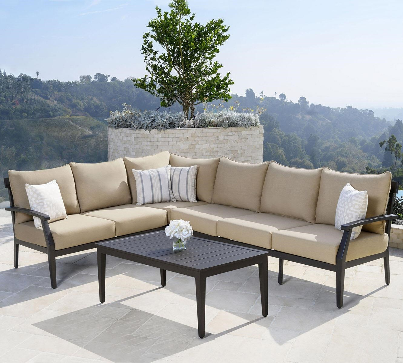 Marielle Marielle Outdoor Sectional Set by Abbyson at Morris Home