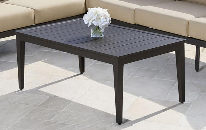 Marielle Marielle Outdoor Coffee Table by Abbyson at Morris Home