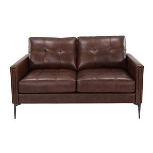 Murphey Leather Match Loveseat