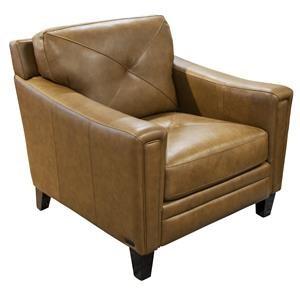 Wren Leather Match Chair