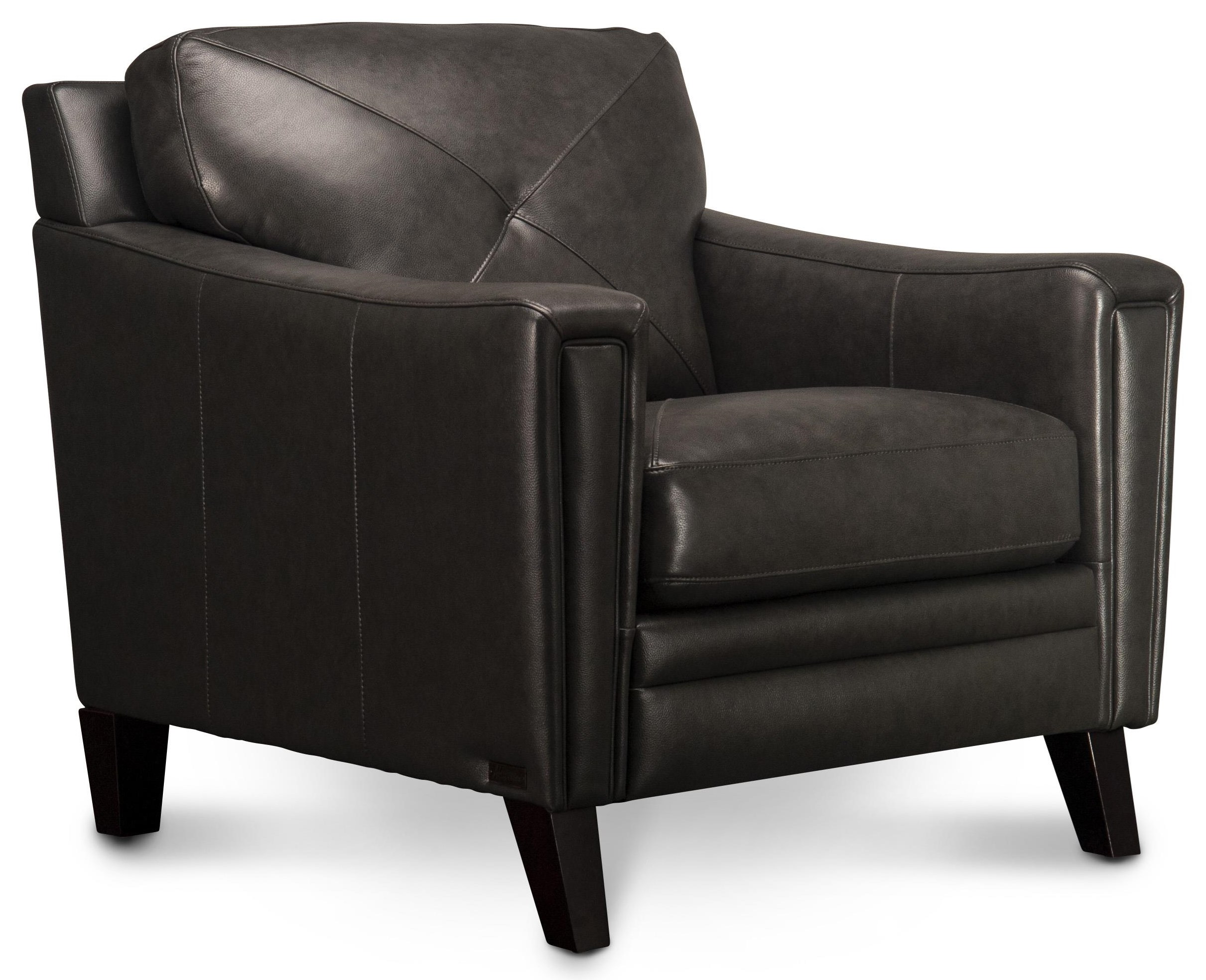 Wren Wren Leather Chair by Abbyson at Morris Home
