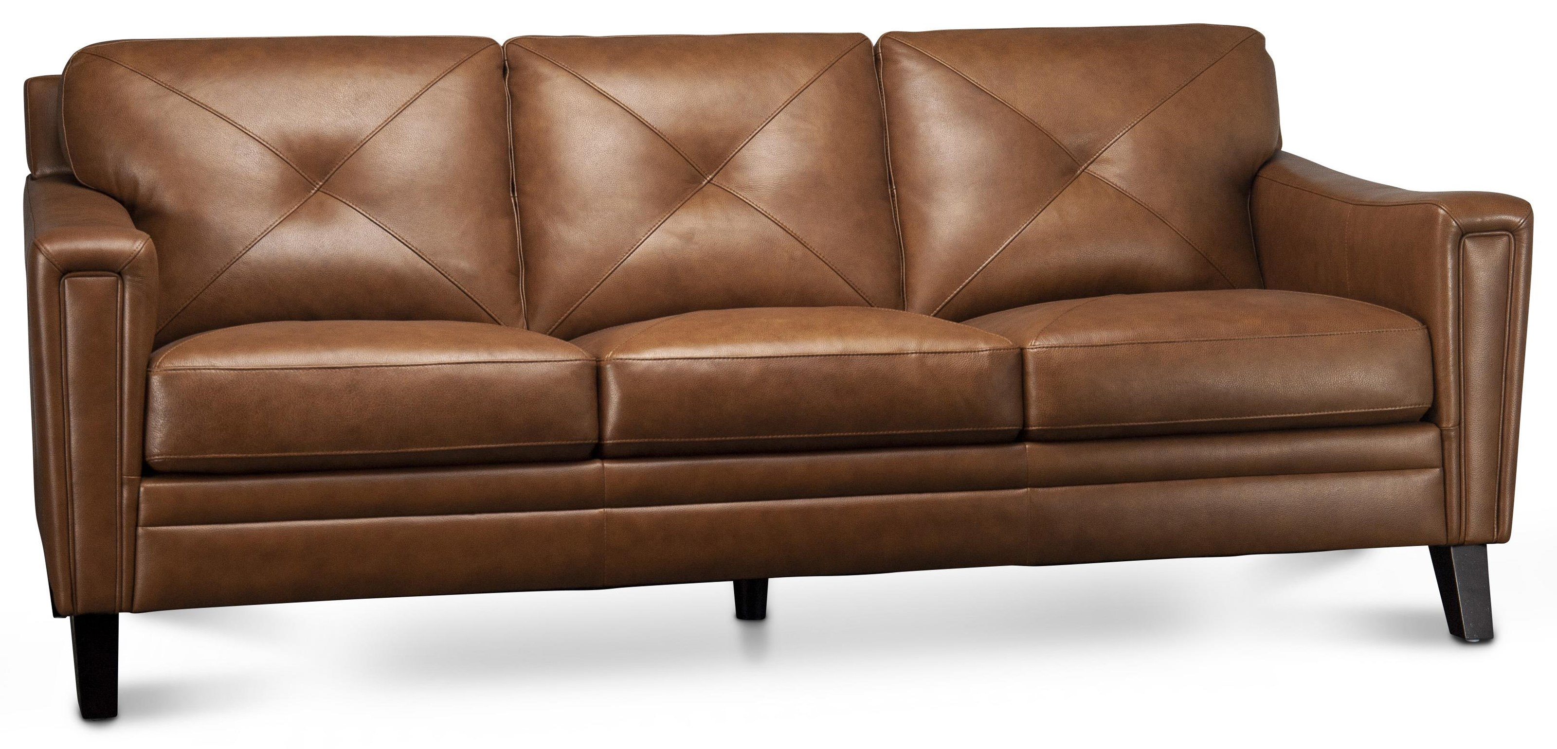 Wren Wren Leather Match Sofa by Abbyson at Morris Home