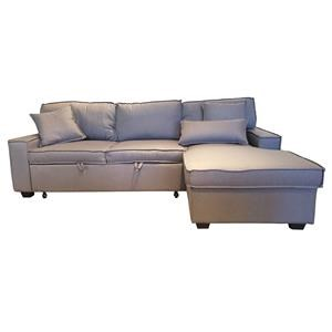 2 Pc. Sleeper Sectional - Grey
