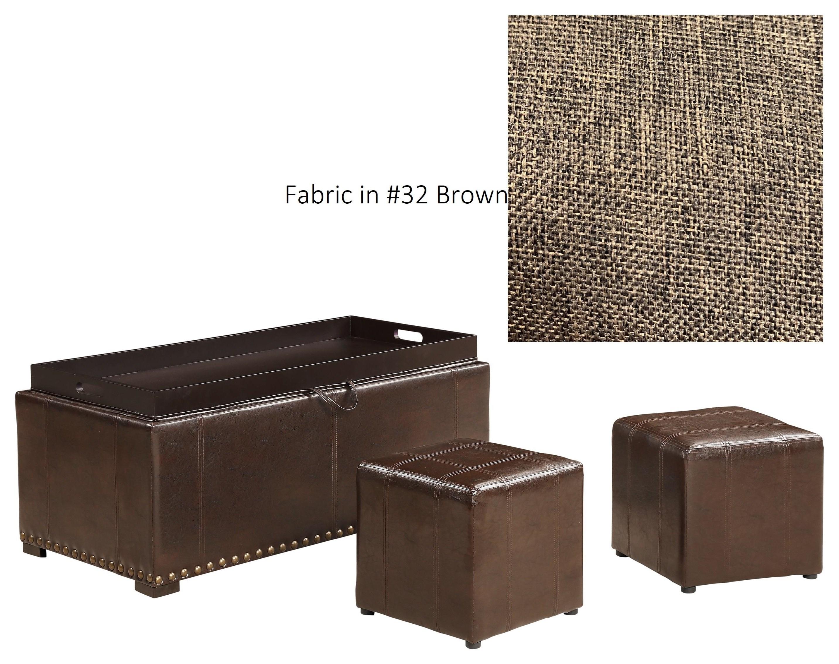 SB008 Ottoman at Bennett's Furniture and Mattresses