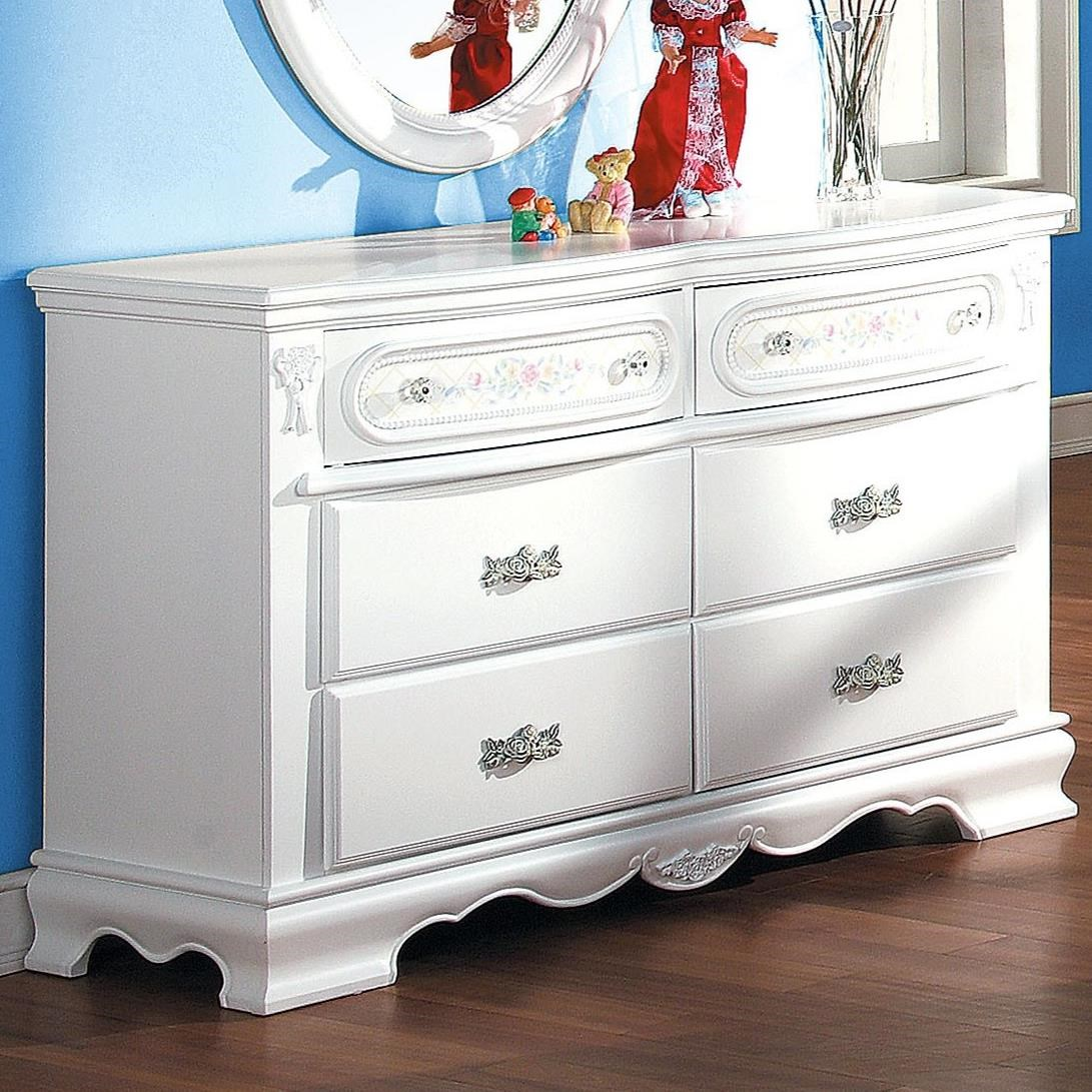 Flora Dresser (Drw) by Acme Furniture at Carolina Direct