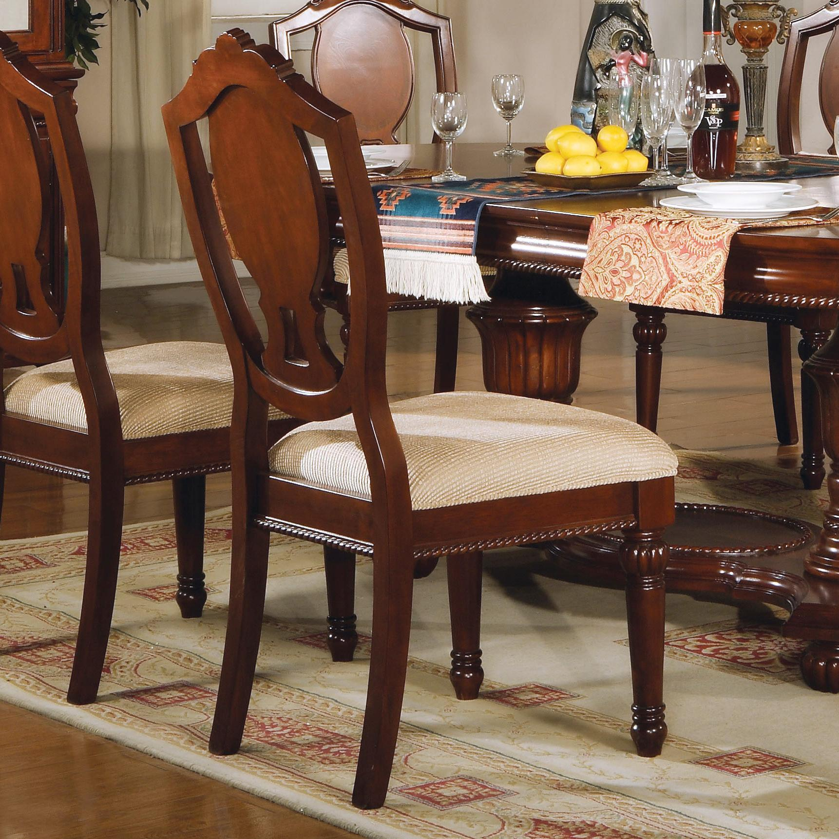11800 Side Chair by Acme Furniture at Del Sol Furniture