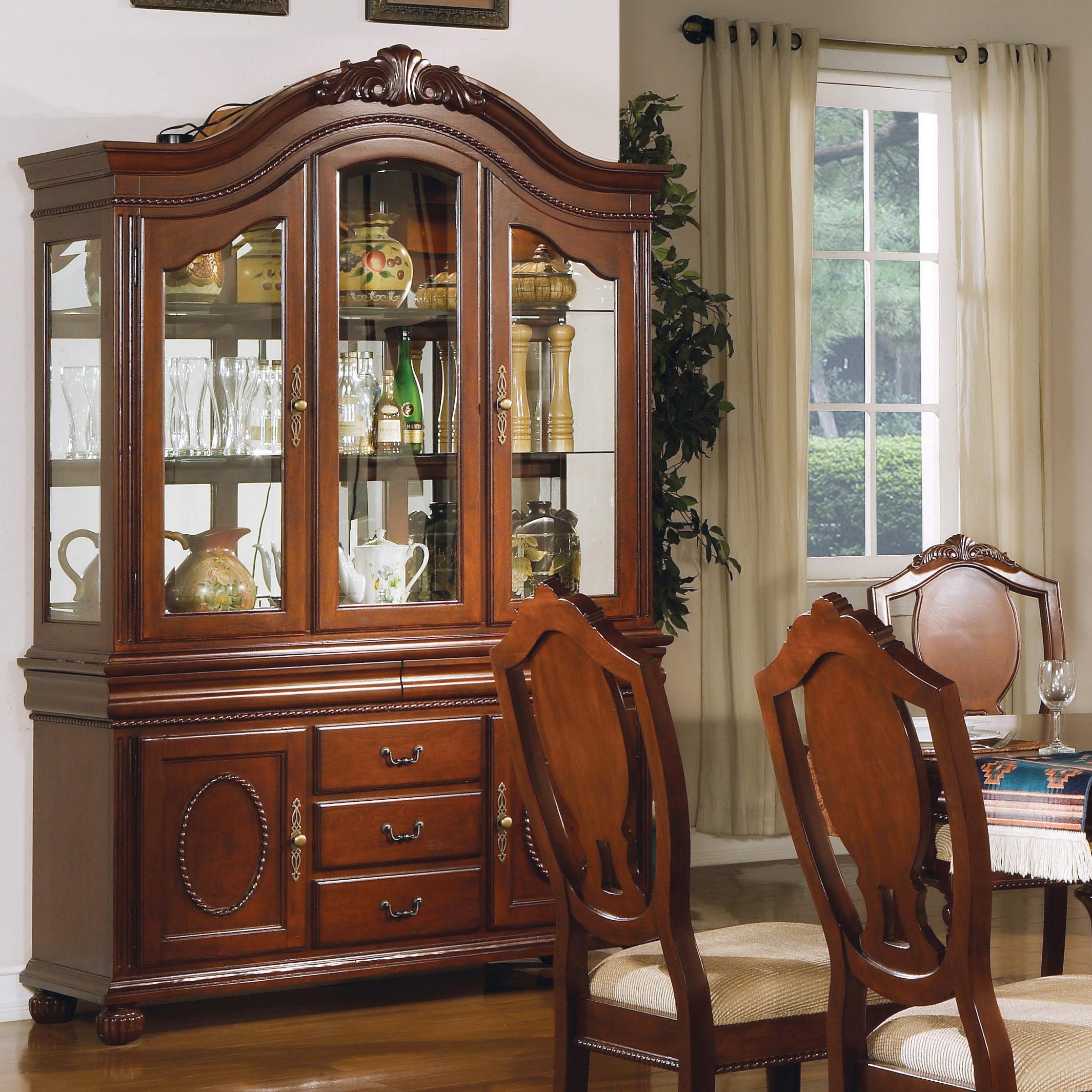 11800 Buffet and Hutch by Acme Furniture at Corner Furniture