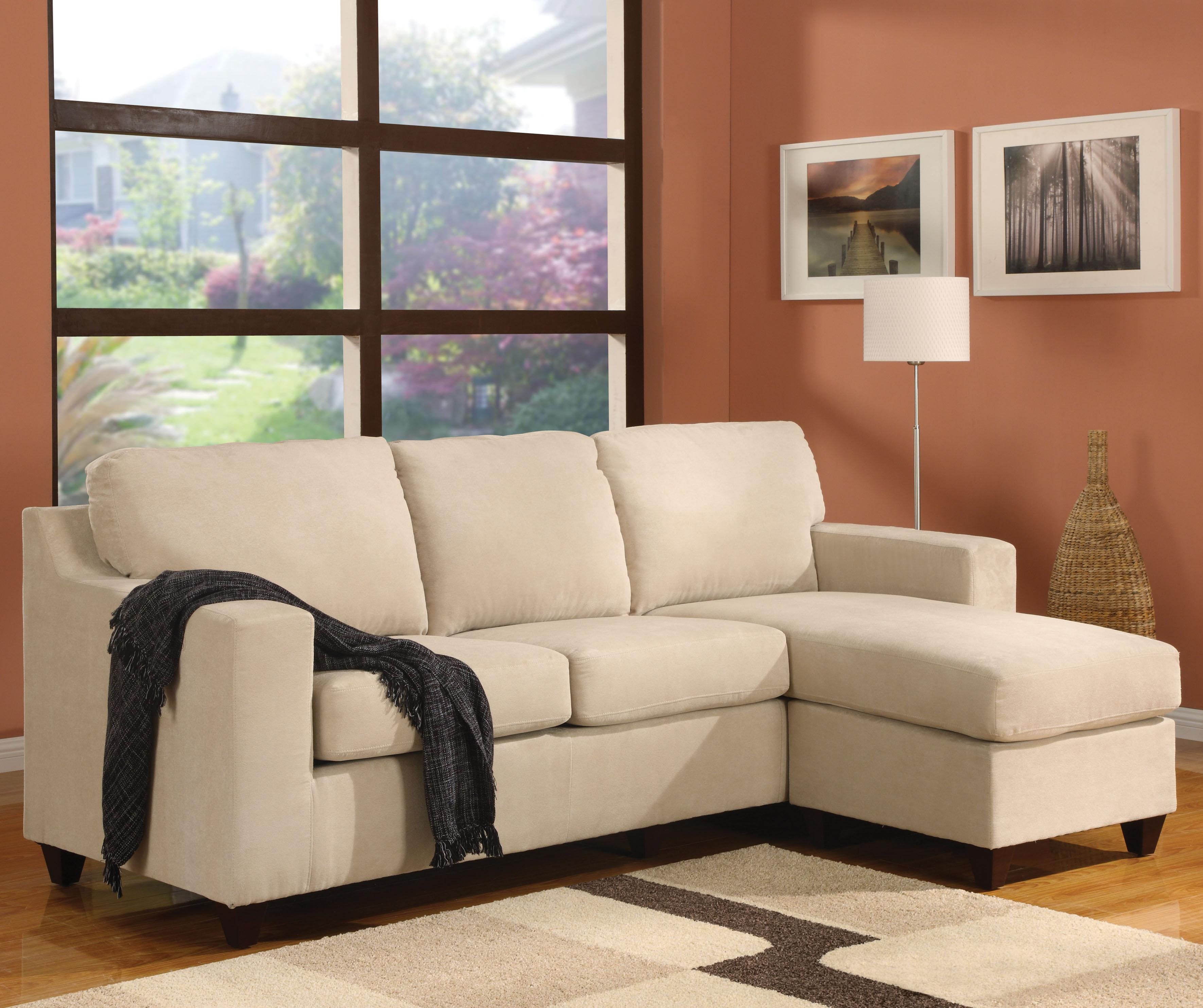 5913 Vogue Reversible Chaise Sectional by Acme Furniture at A1 Furniture & Mattress
