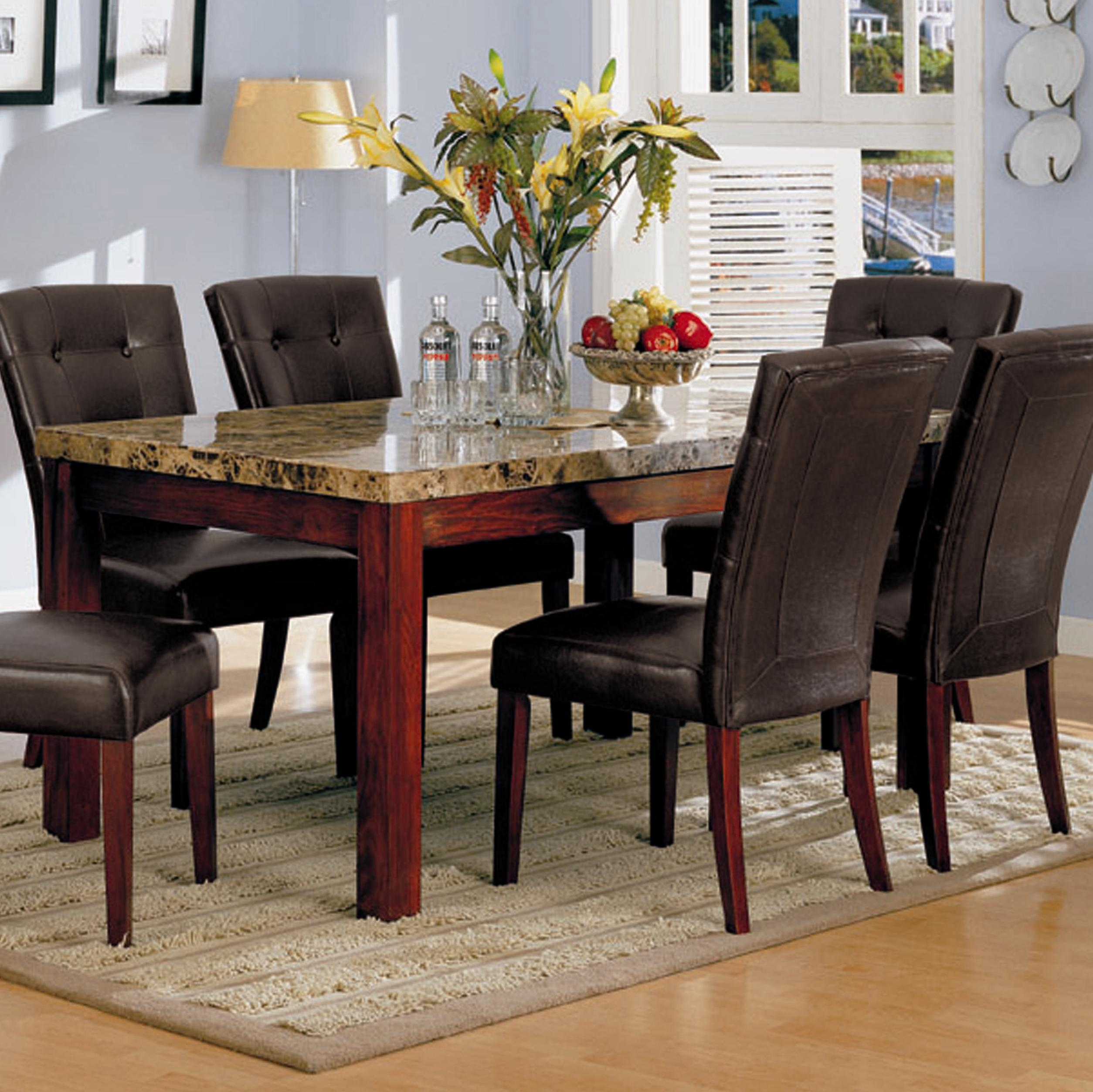 7045 Rectangular Dining Table by Acme Furniture at Dream Home Interiors