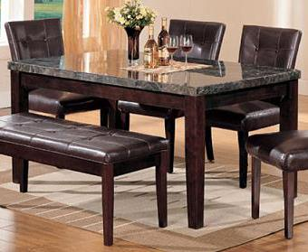 Canville Dining Leg Table by Acme Furniture at Nassau Furniture and Mattress