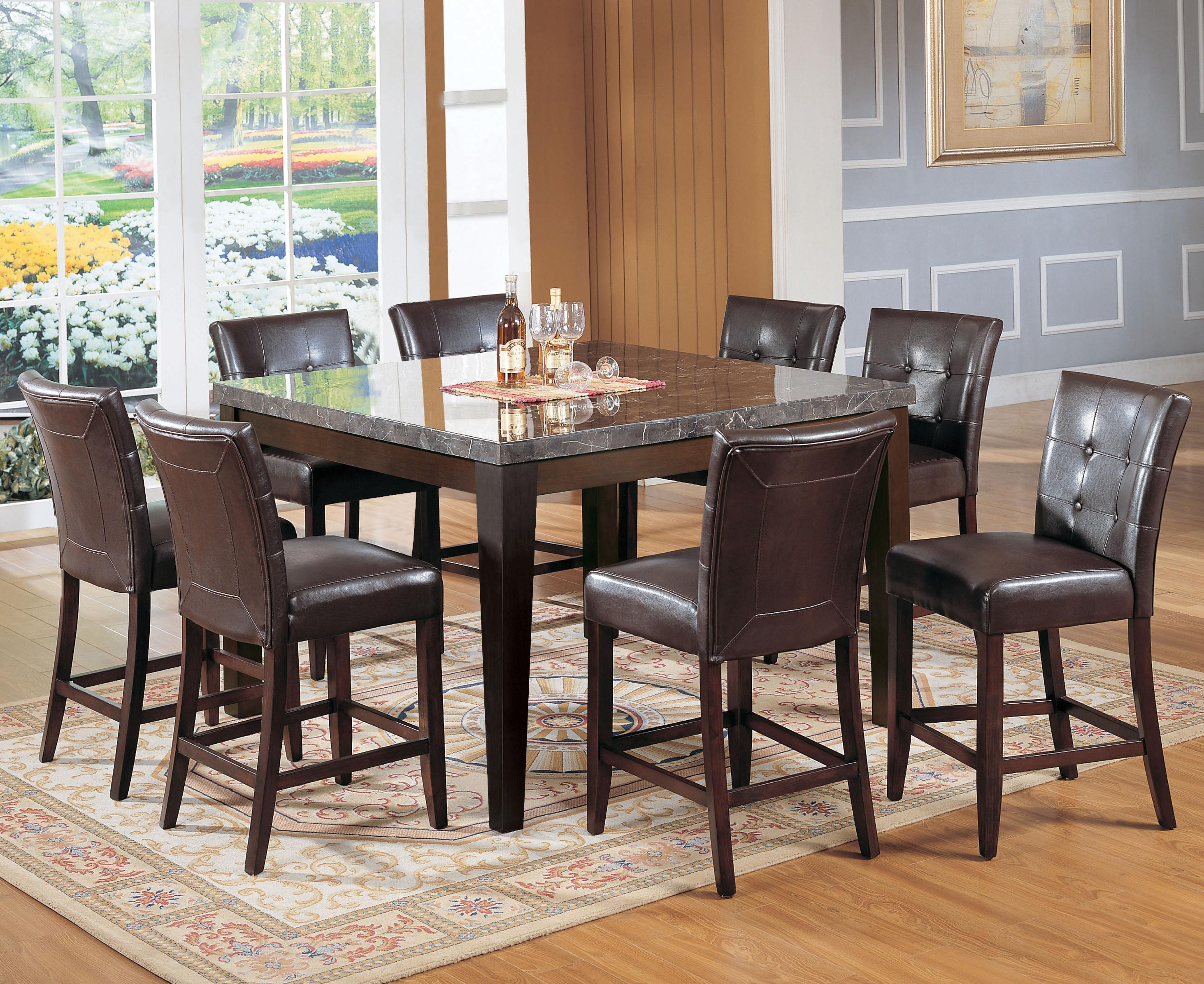 Canville Nine Piece Pub Set by Acme Furniture at Corner Furniture