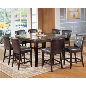 Acme Furniture Canville Nine Piece Pub Set