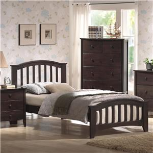 Acme Furniture San Marino Full Slat Bed