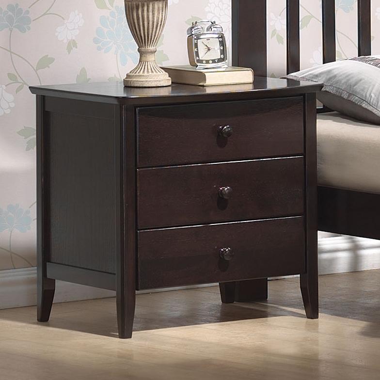 San Marino Nightstand by Acme Furniture at Carolina Direct