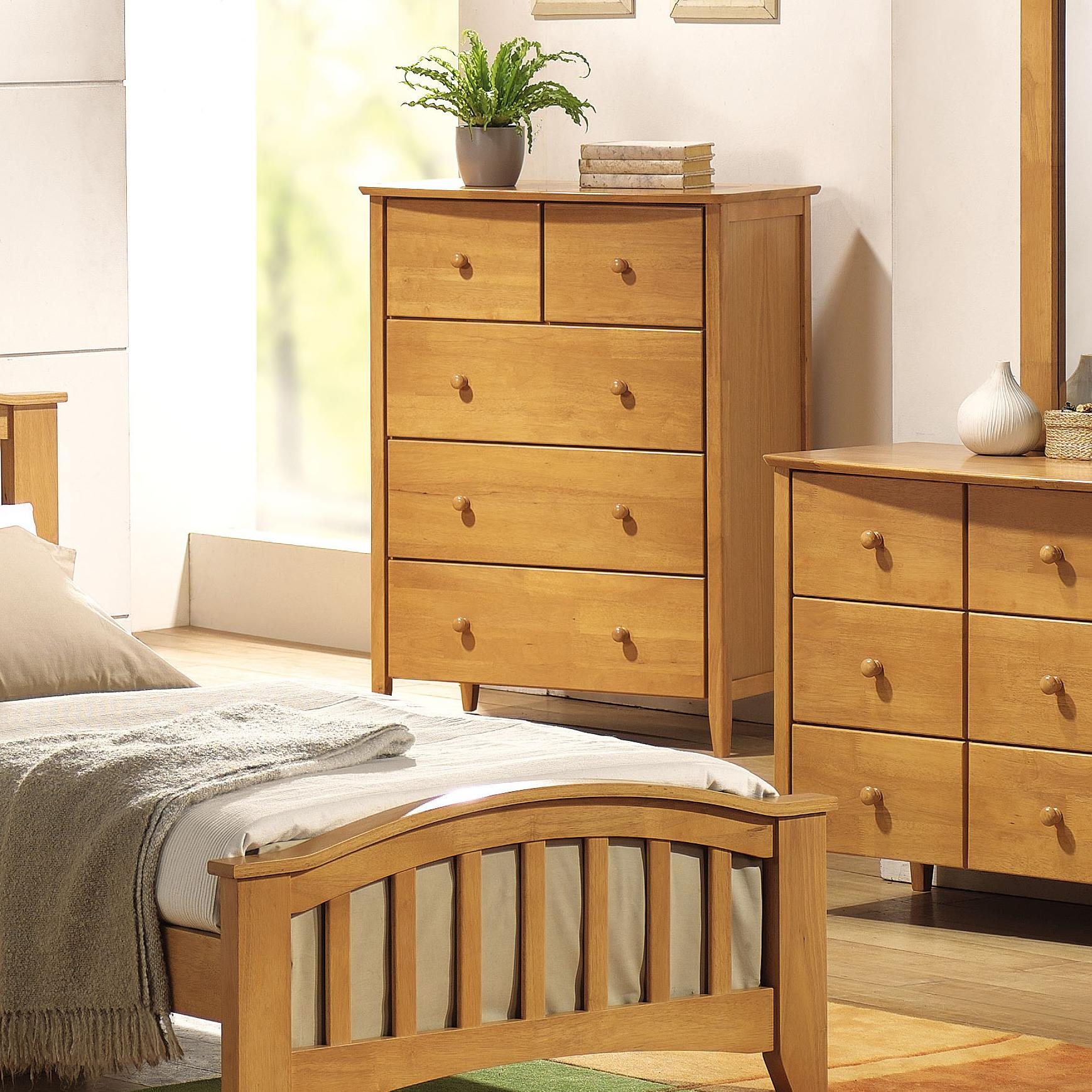 San Marino Chest of Drawers by Acme Furniture at Nassau Furniture and Mattress