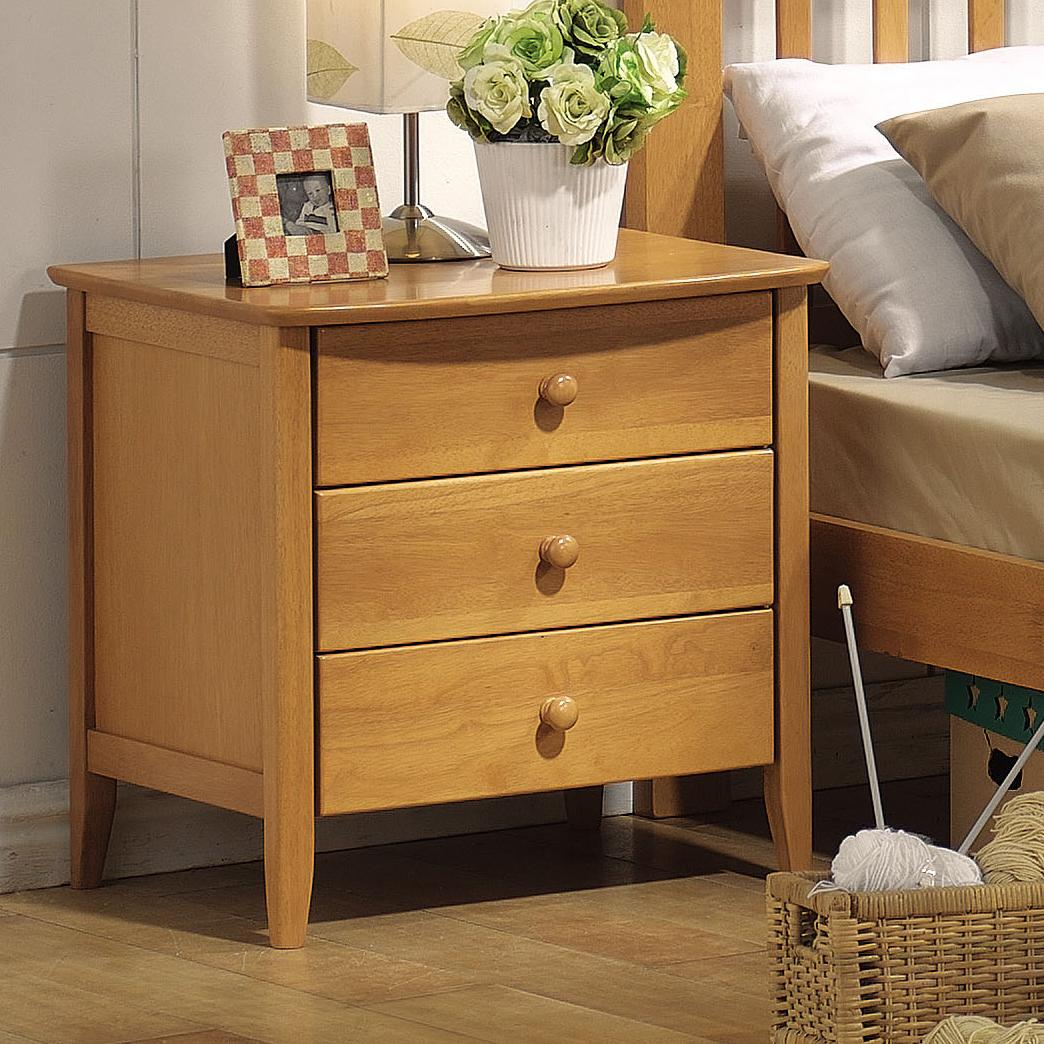 San Marino Nightstand by Acme Furniture at Corner Furniture