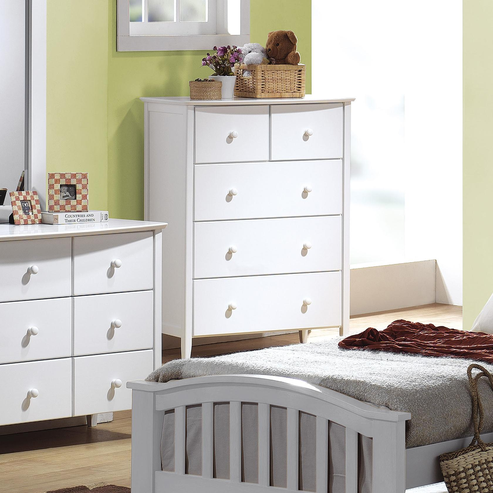 San Marino Chest of Drawers by Acme Furniture at Del Sol Furniture