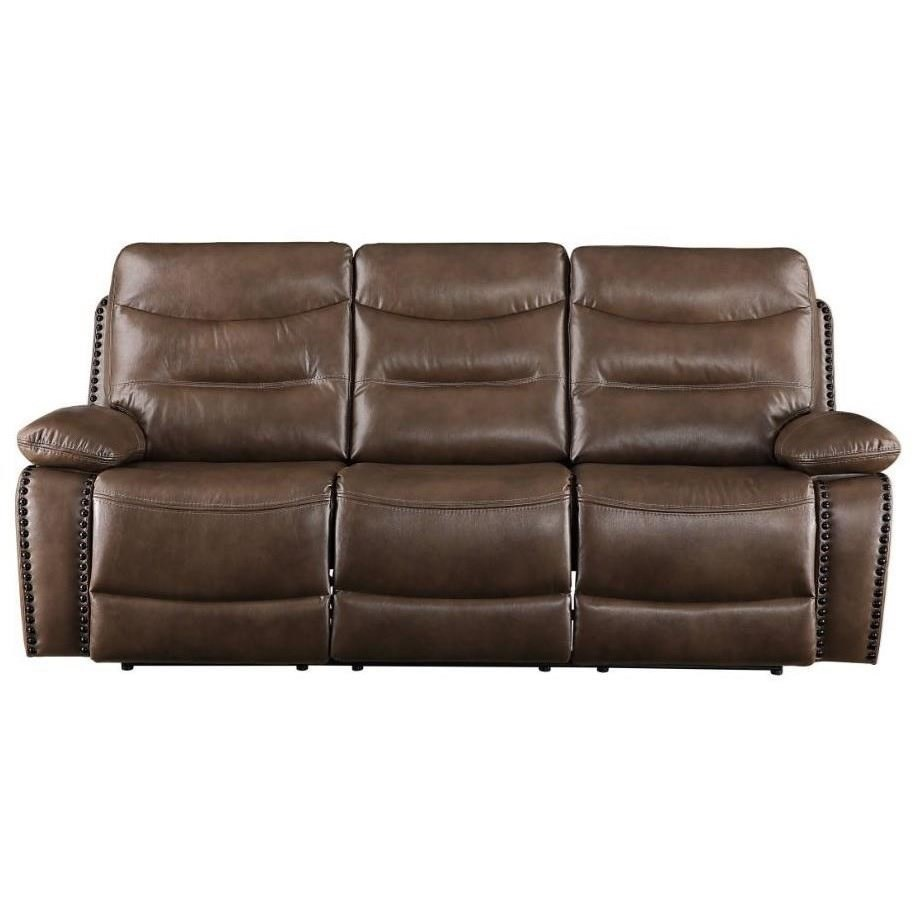 Aashi Reclining Sofa by Acme Furniture at Corner Furniture