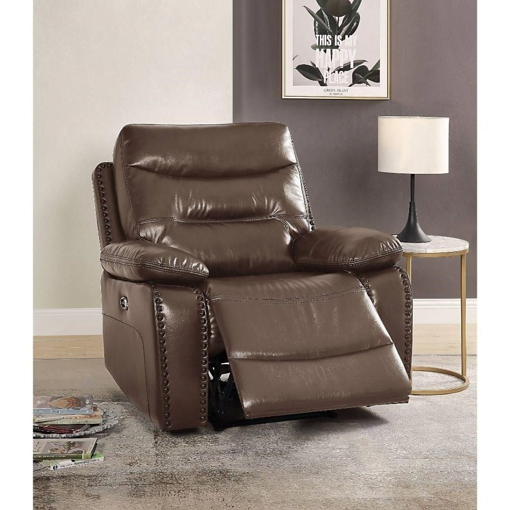 Aashi Power Recliner by Acme Furniture at Del Sol Furniture