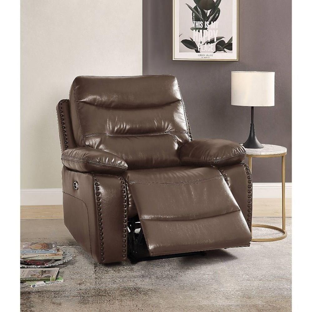 Aashi Power Recliner by Acme Furniture at Corner Furniture