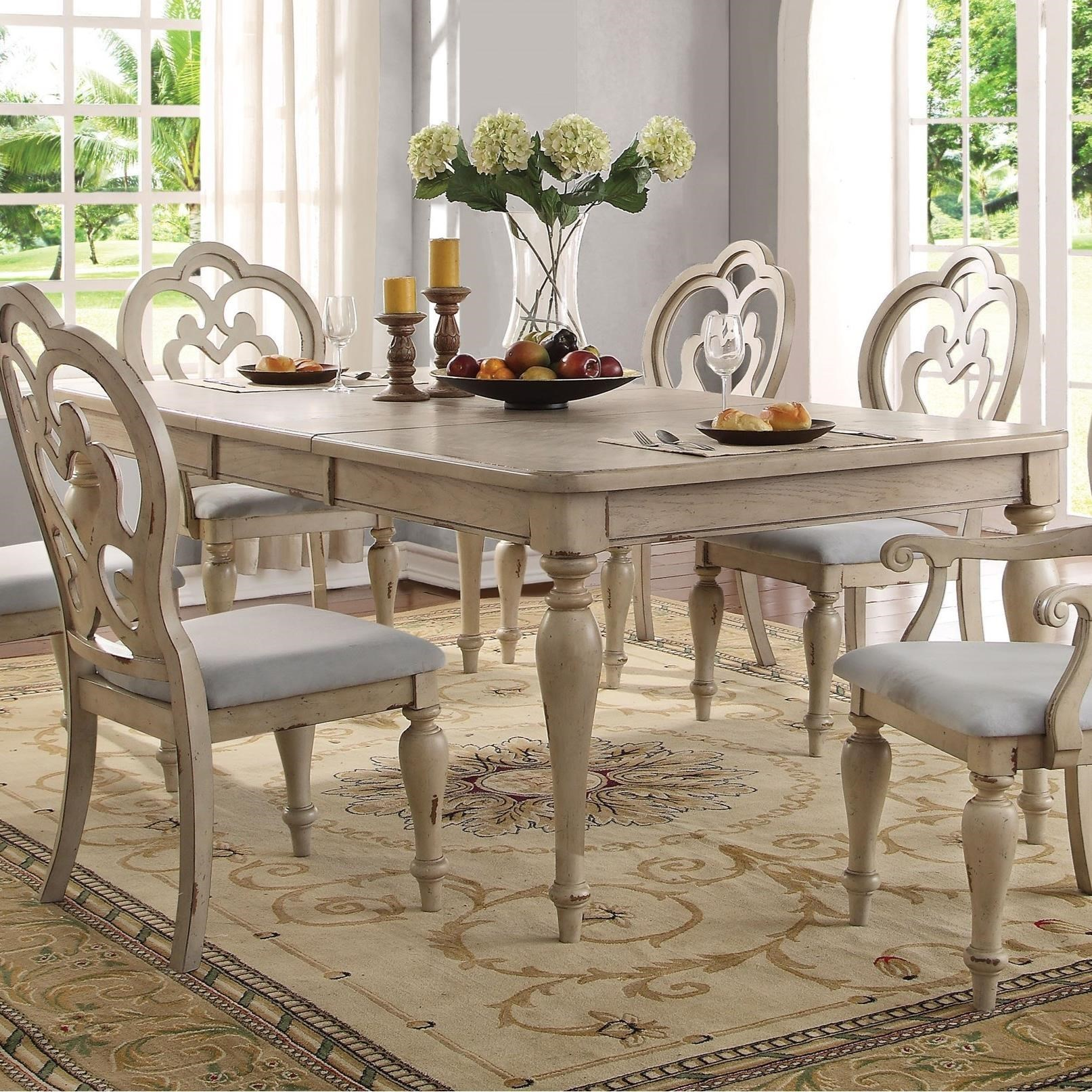 Abelin Dining Table by Acme Furniture at Nassau Furniture and Mattress