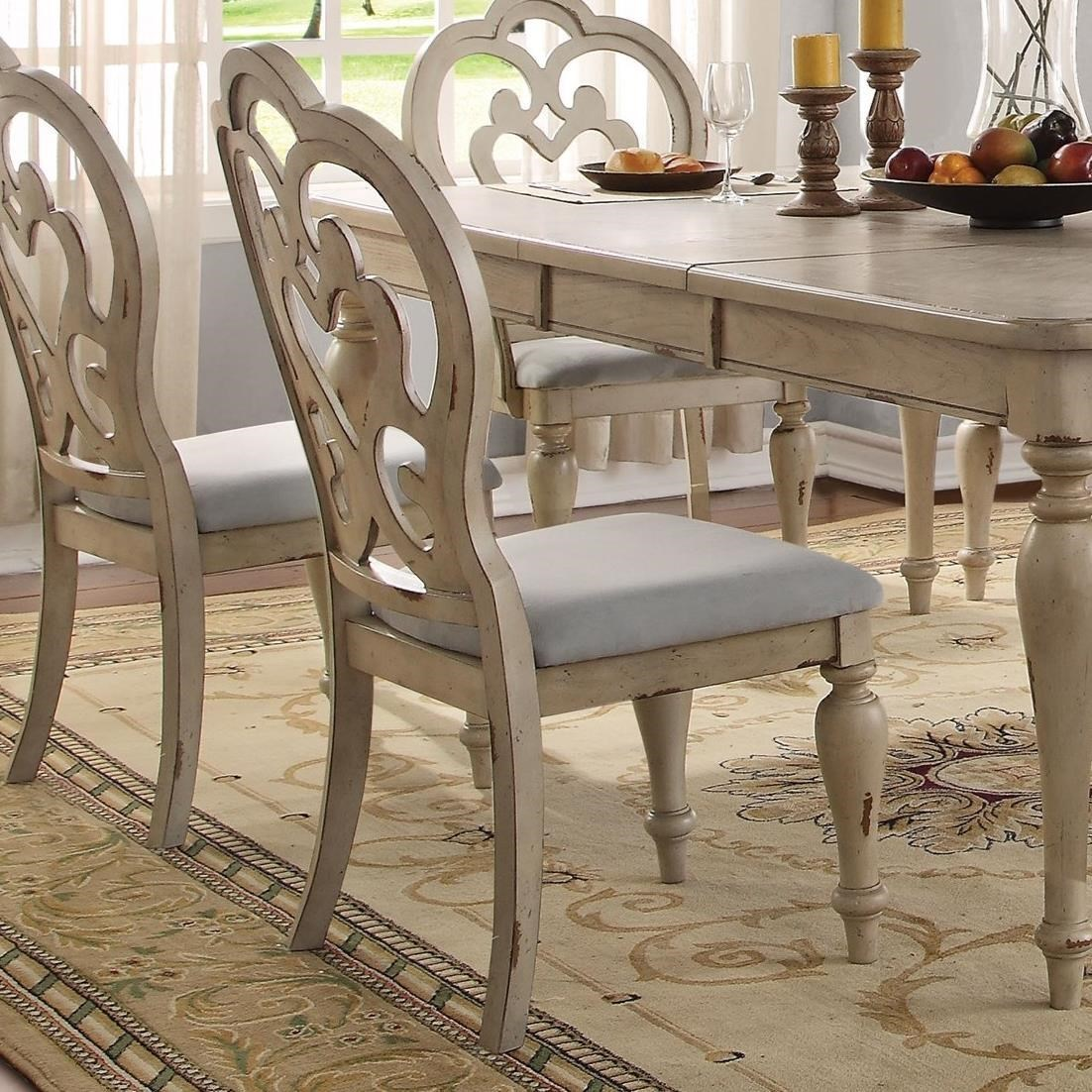 Abelin Side Chair by Acme Furniture at Carolina Direct