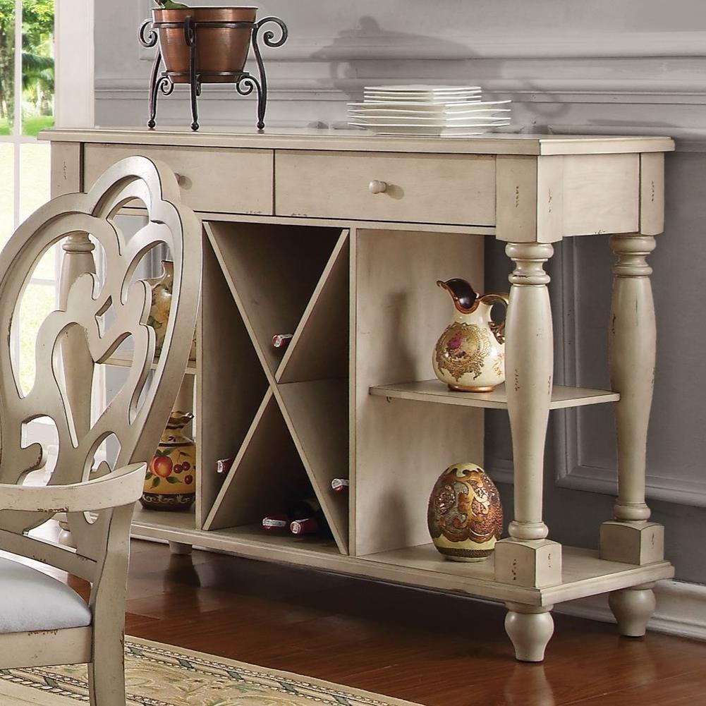 Abelin Server by Acme Furniture at Corner Furniture
