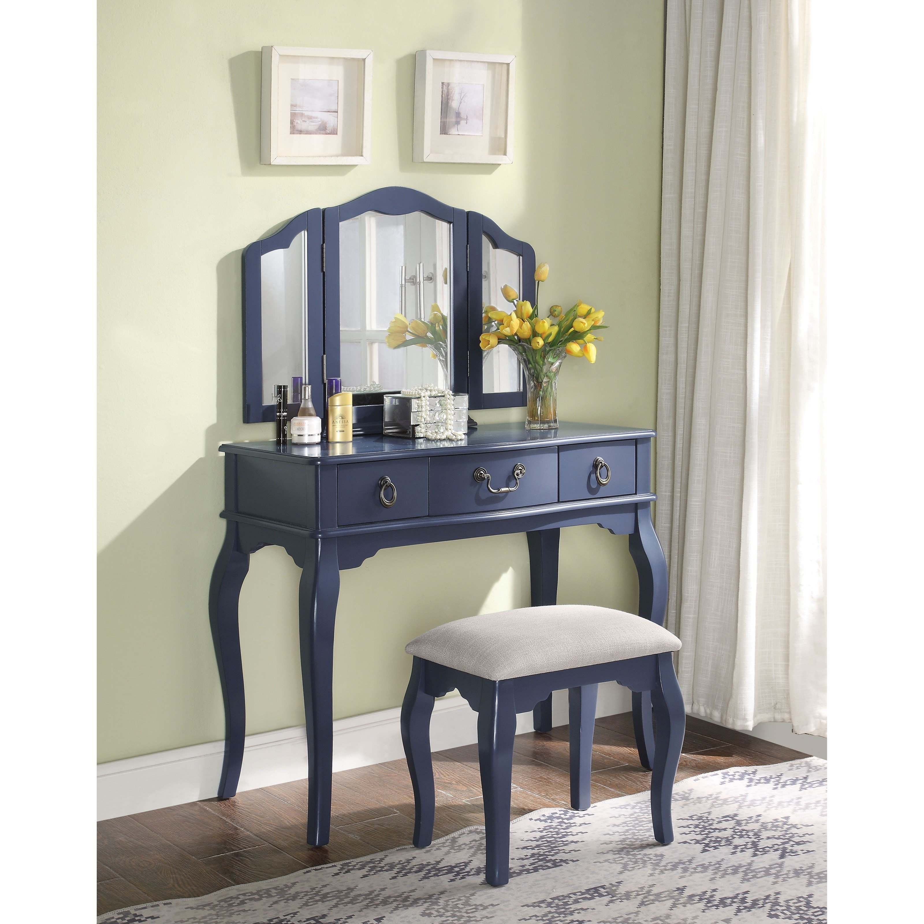 Abelus Vanity Set by Acme Furniture at Carolina Direct