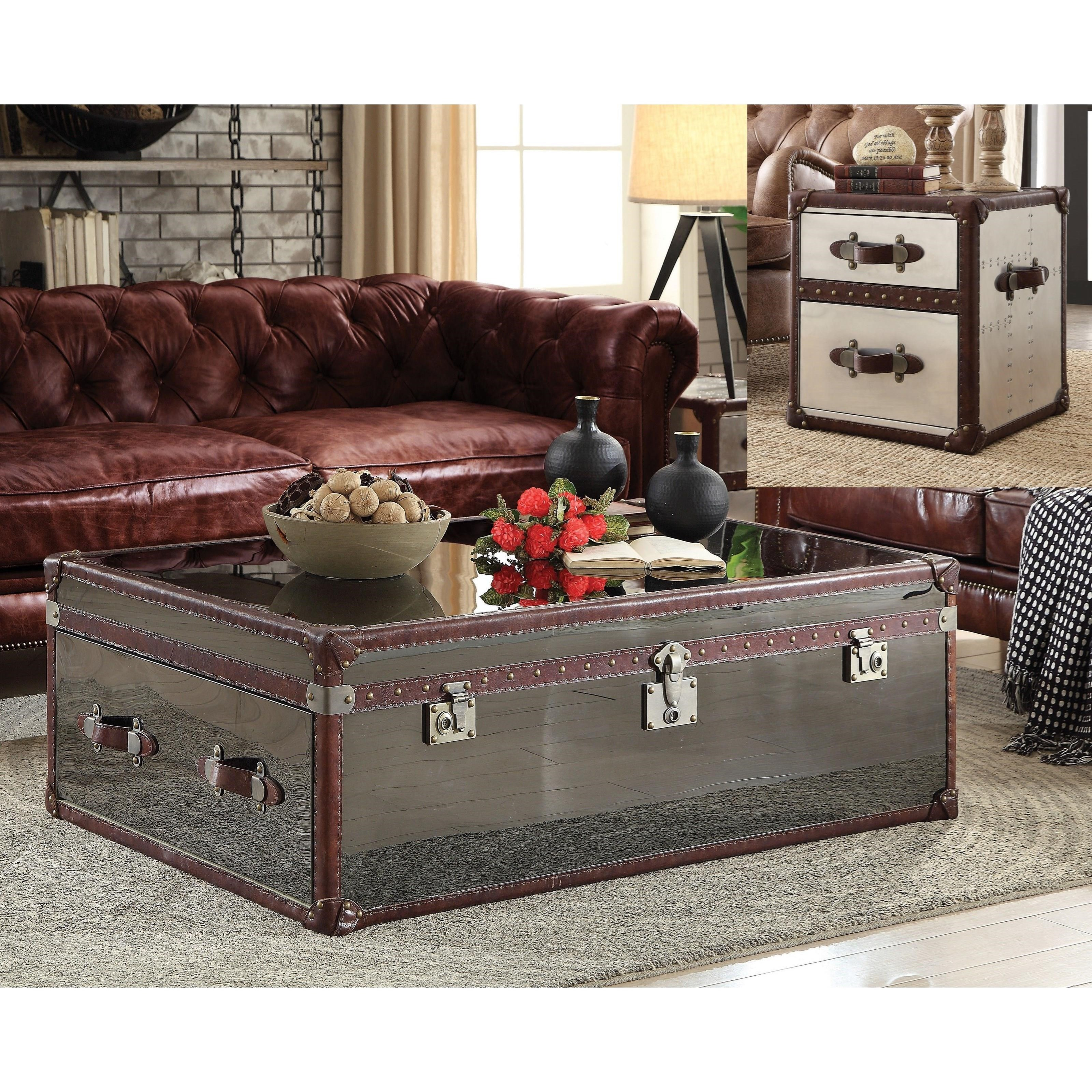 Aberdeen Coffee Table by Acme Furniture at Del Sol Furniture