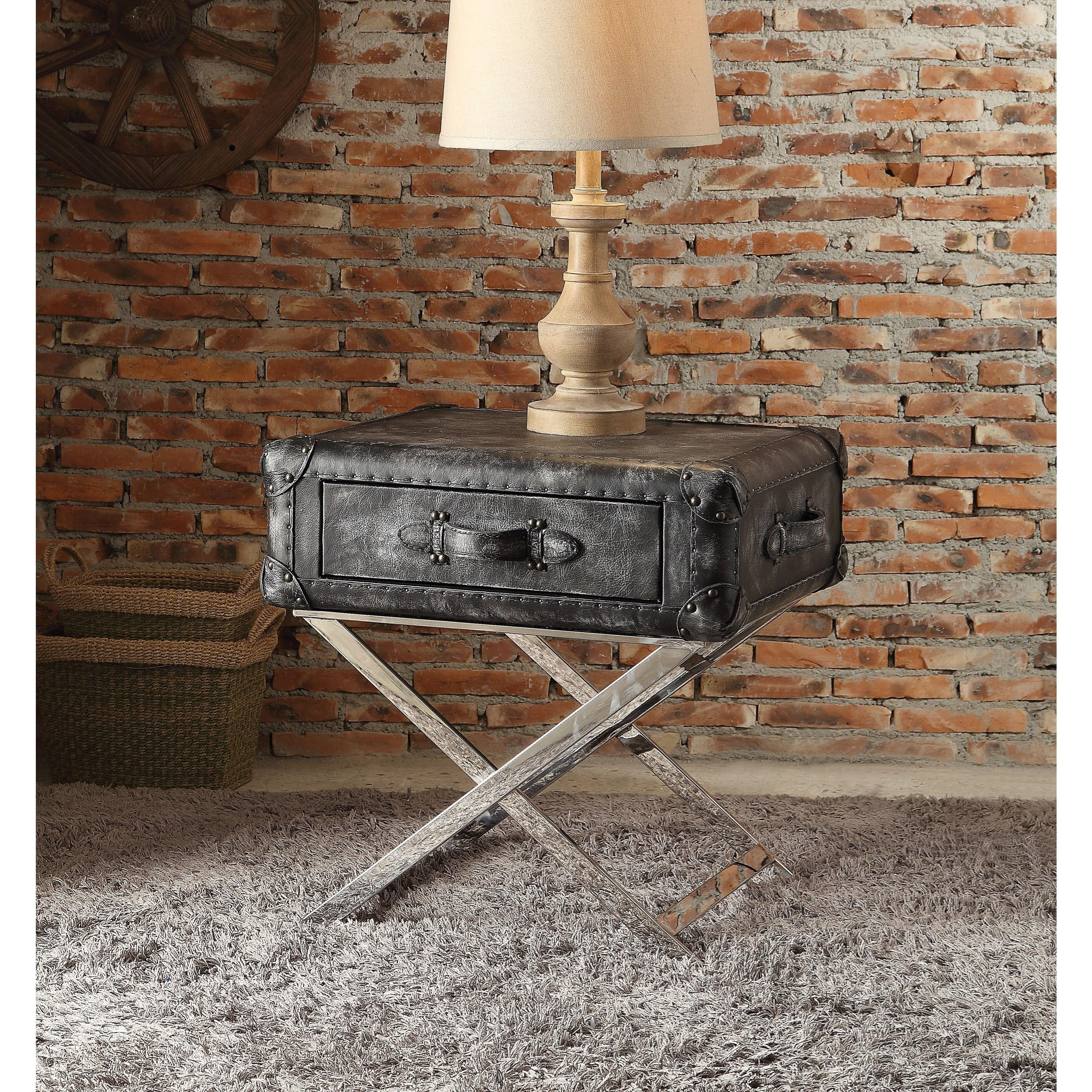 Aberdeen End Table by Acme Furniture at A1 Furniture & Mattress