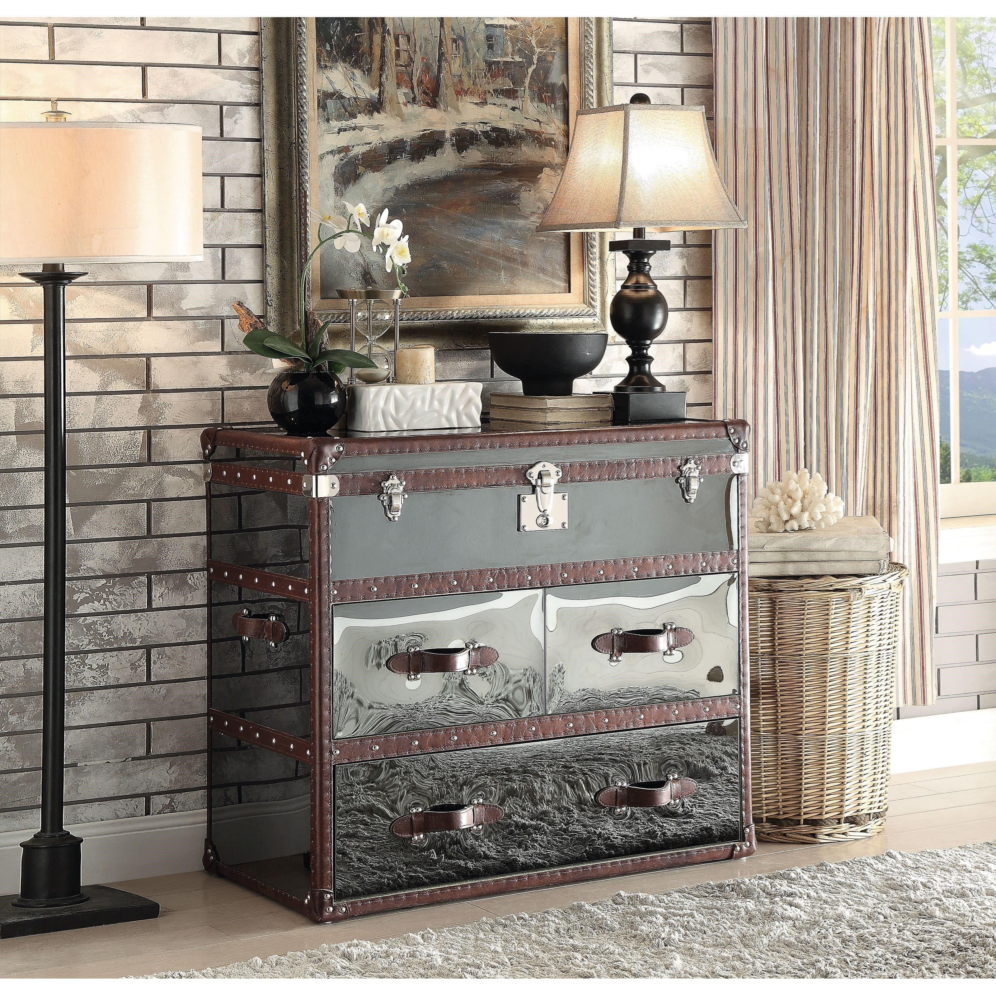 Aberdeen Sofa Table by Acme Furniture at Dream Home Interiors