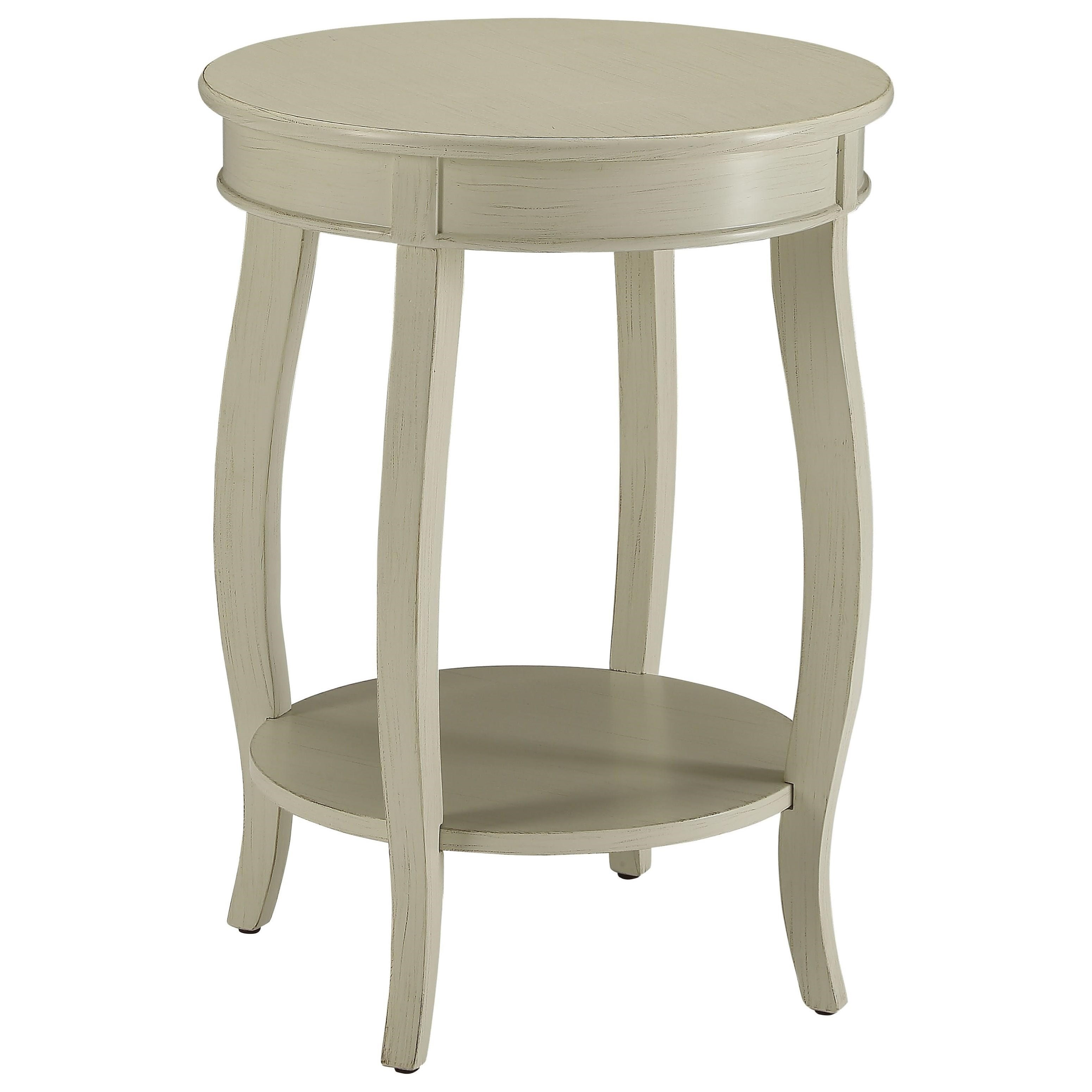 Aberta Side Table by Acme Furniture at Nassau Furniture and Mattress
