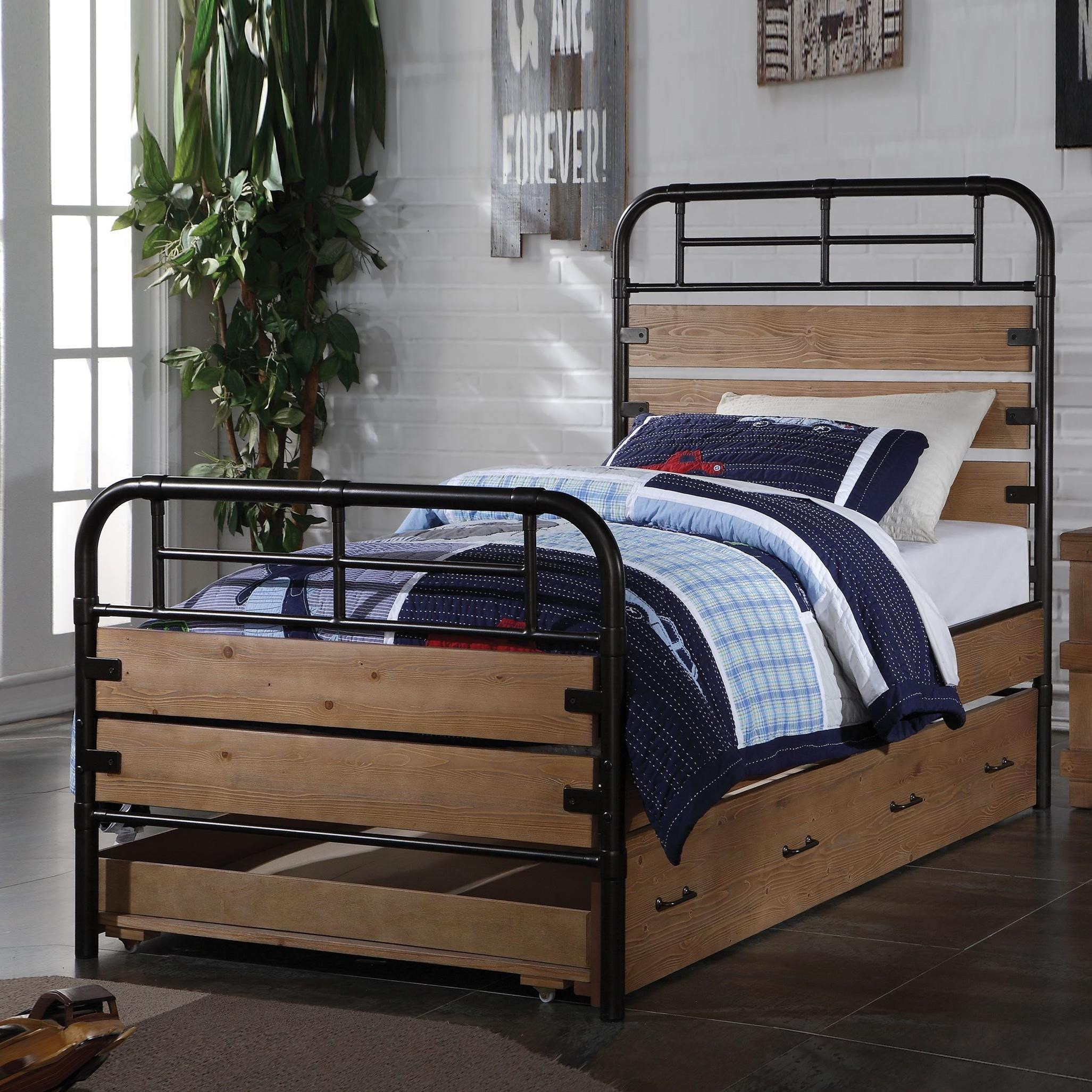 Adams Twin Bed by Acme Furniture at A1 Furniture & Mattress