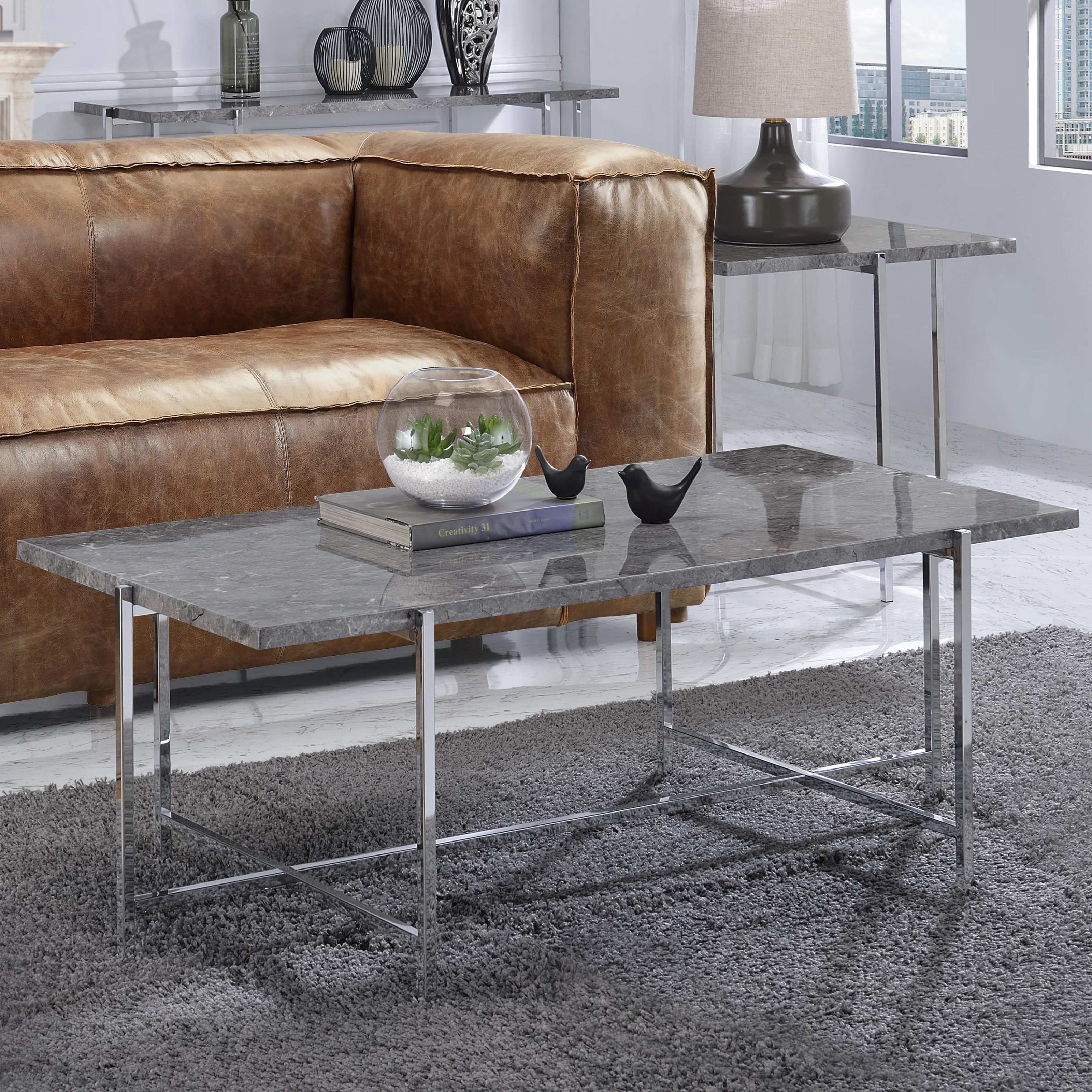 Adelae Coffee Table by Acme Furniture at A1 Furniture & Mattress