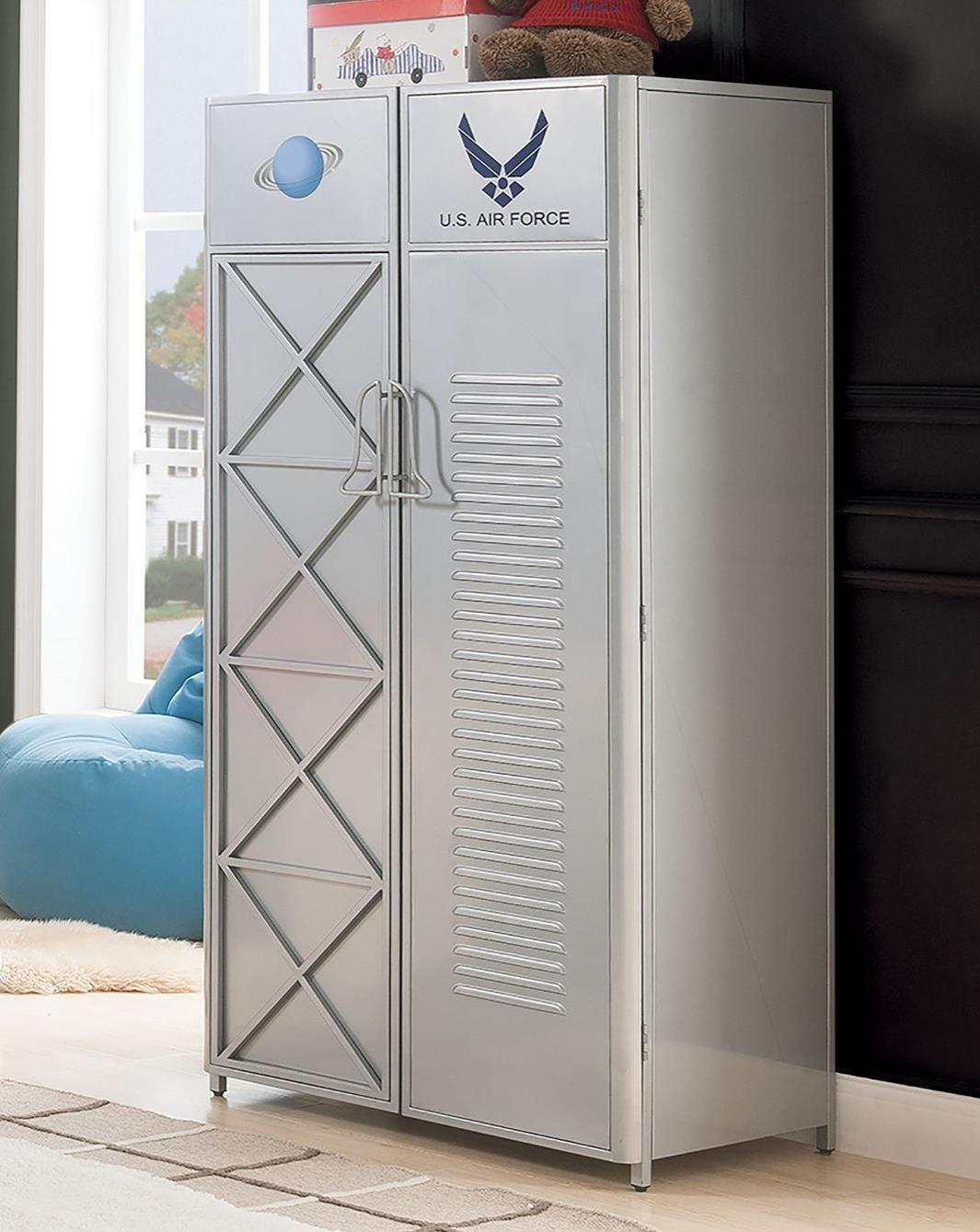 Aeronautic Wardrobe by Acme Furniture at A1 Furniture & Mattress