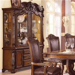 Acme Furniture Agate Hutch & Buffet