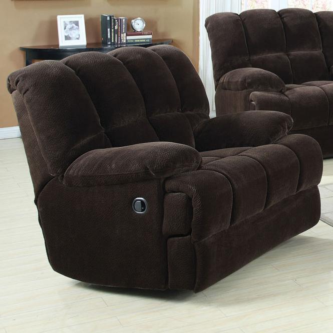 Ahearn Rocker Recliner by Acme Furniture at A1 Furniture & Mattress