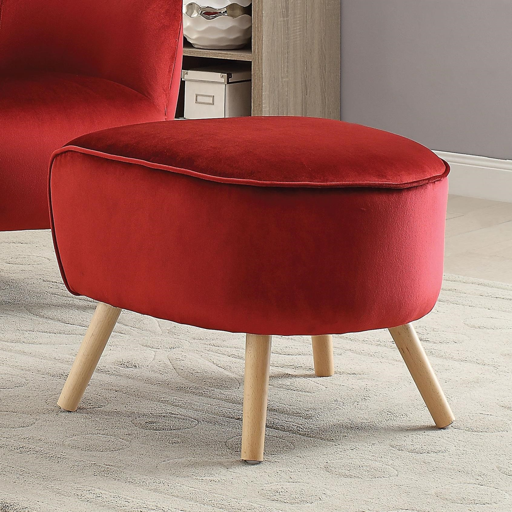 Aisling Ottoman by Acme Furniture at Carolina Direct