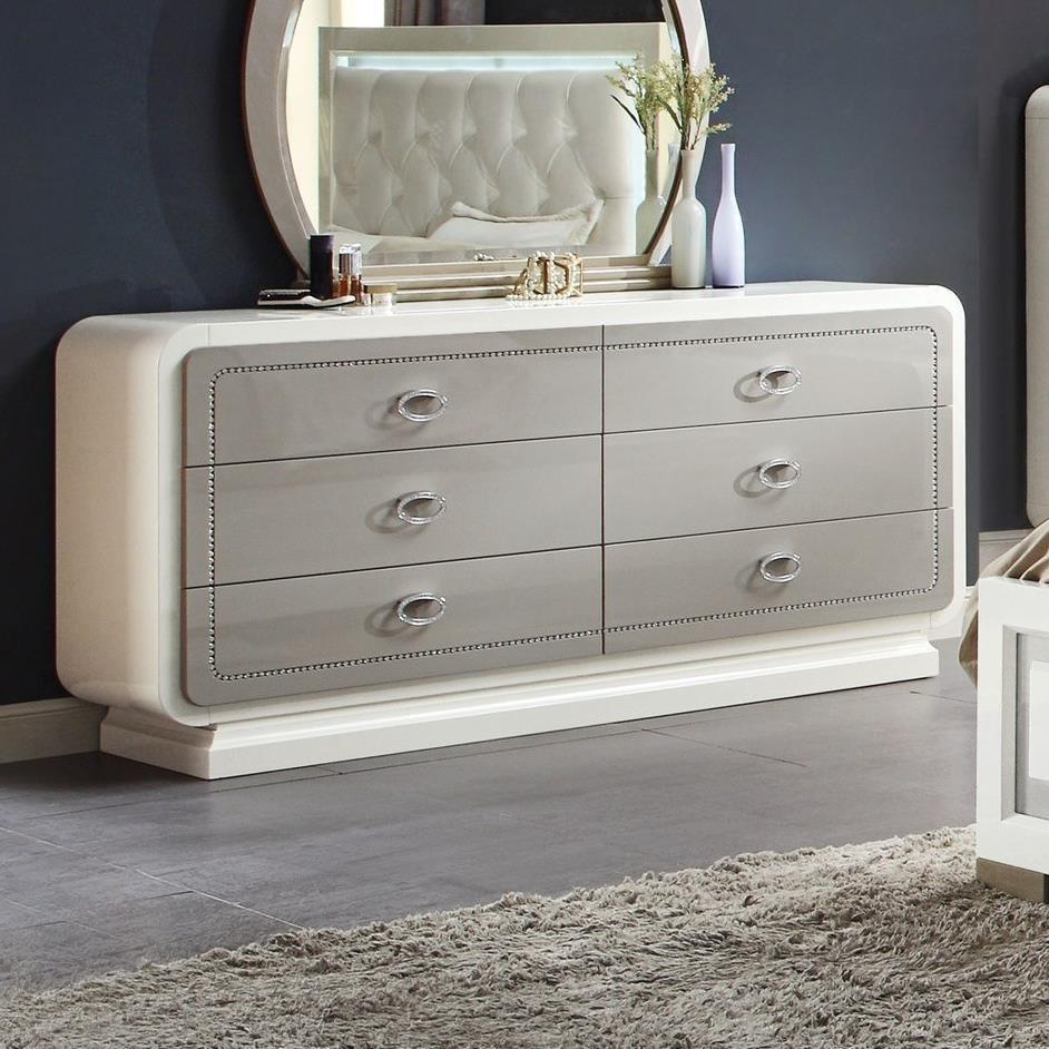 Allendale Dresser by Acme Furniture at Carolina Direct