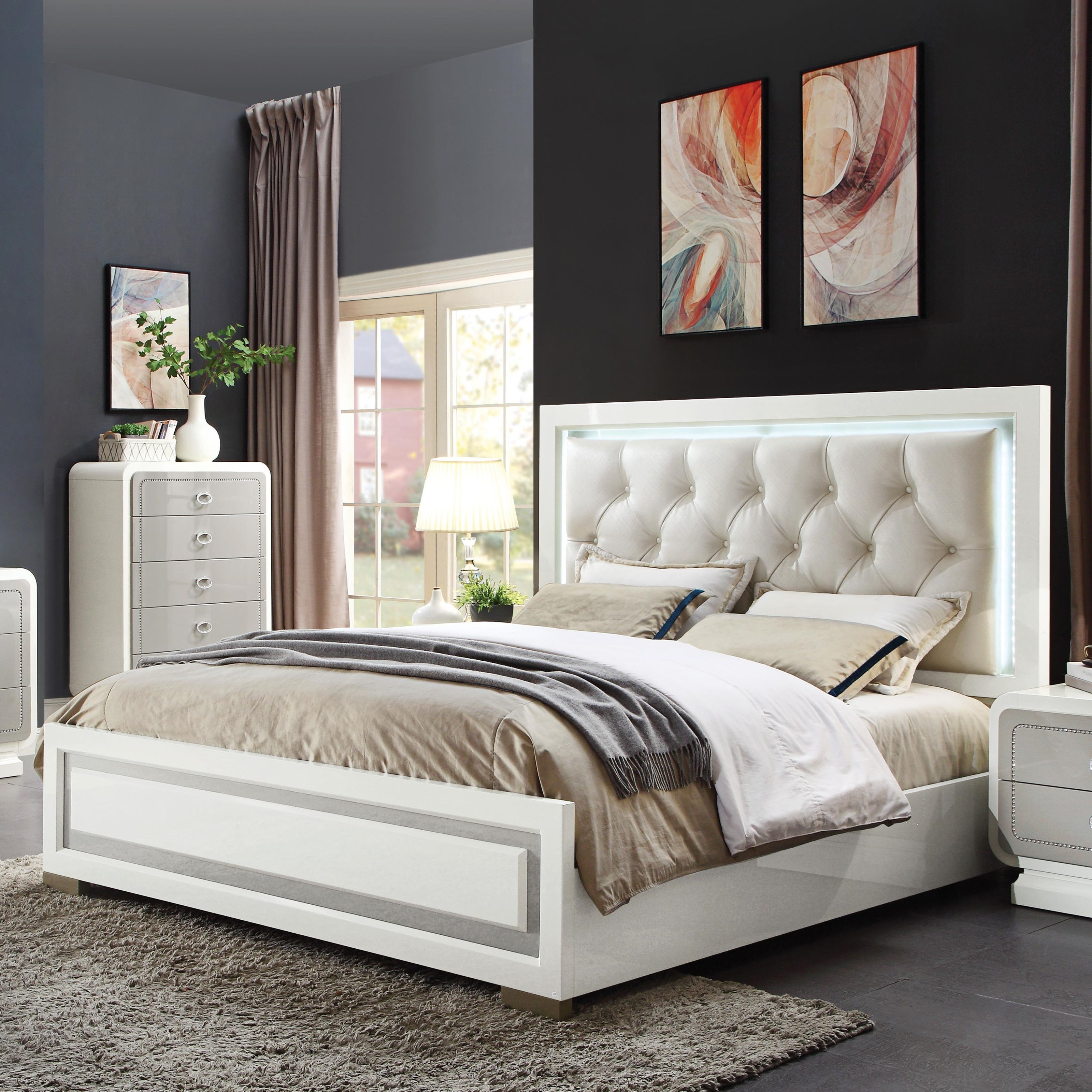 Allendale Queen Bed by Acme Furniture at Carolina Direct
