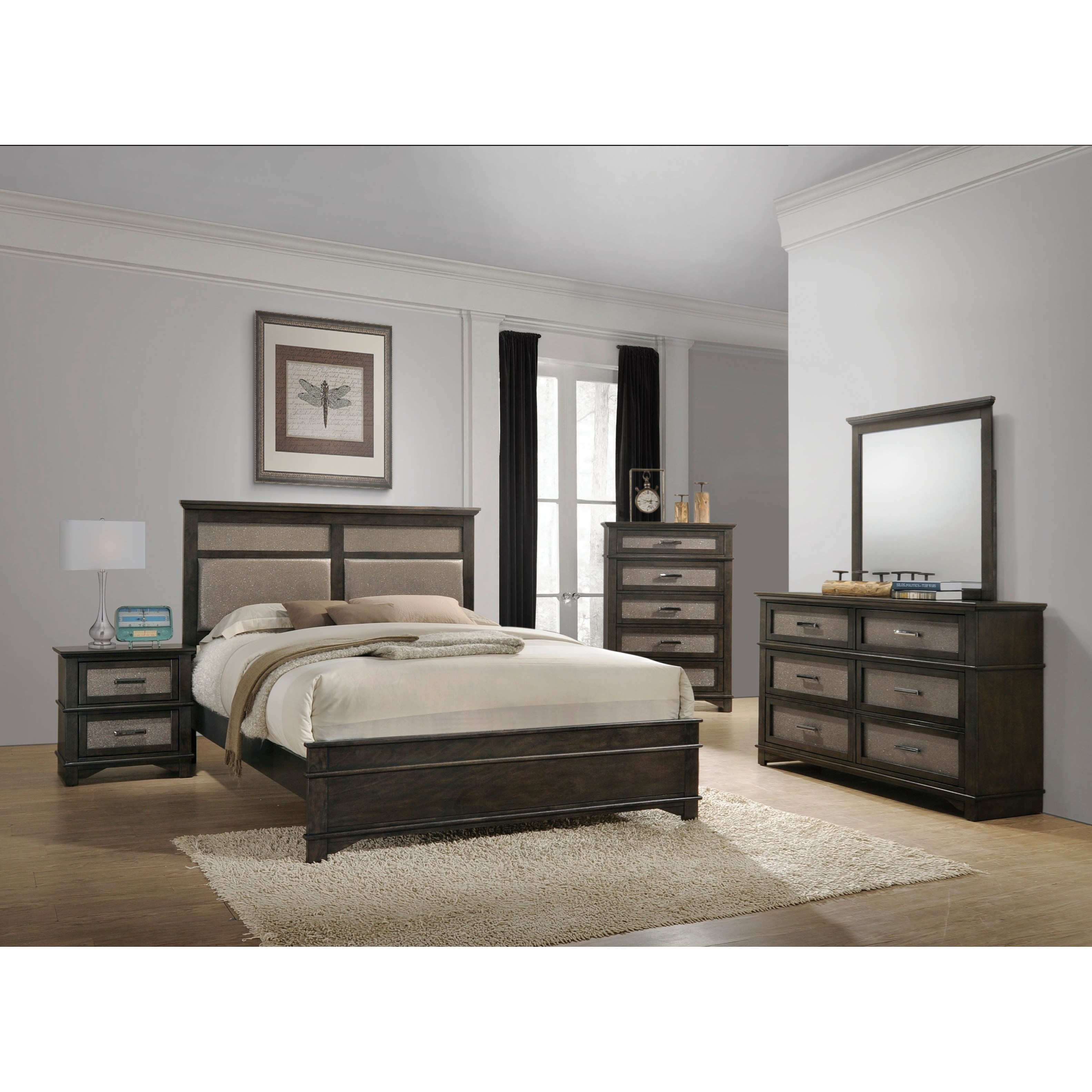 Anatole Queen Bedroom Group by Acme Furniture at A1 Furniture & Mattress