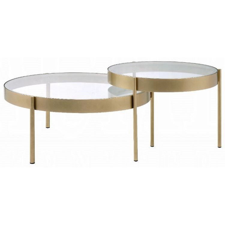 Andover 2-Pack Nesting Tables by Acme Furniture at Carolina Direct