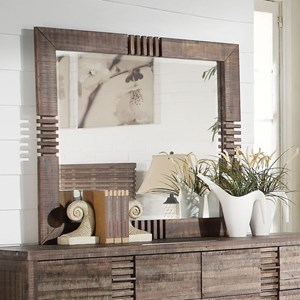 Dresser Mirror with Beveled Edges