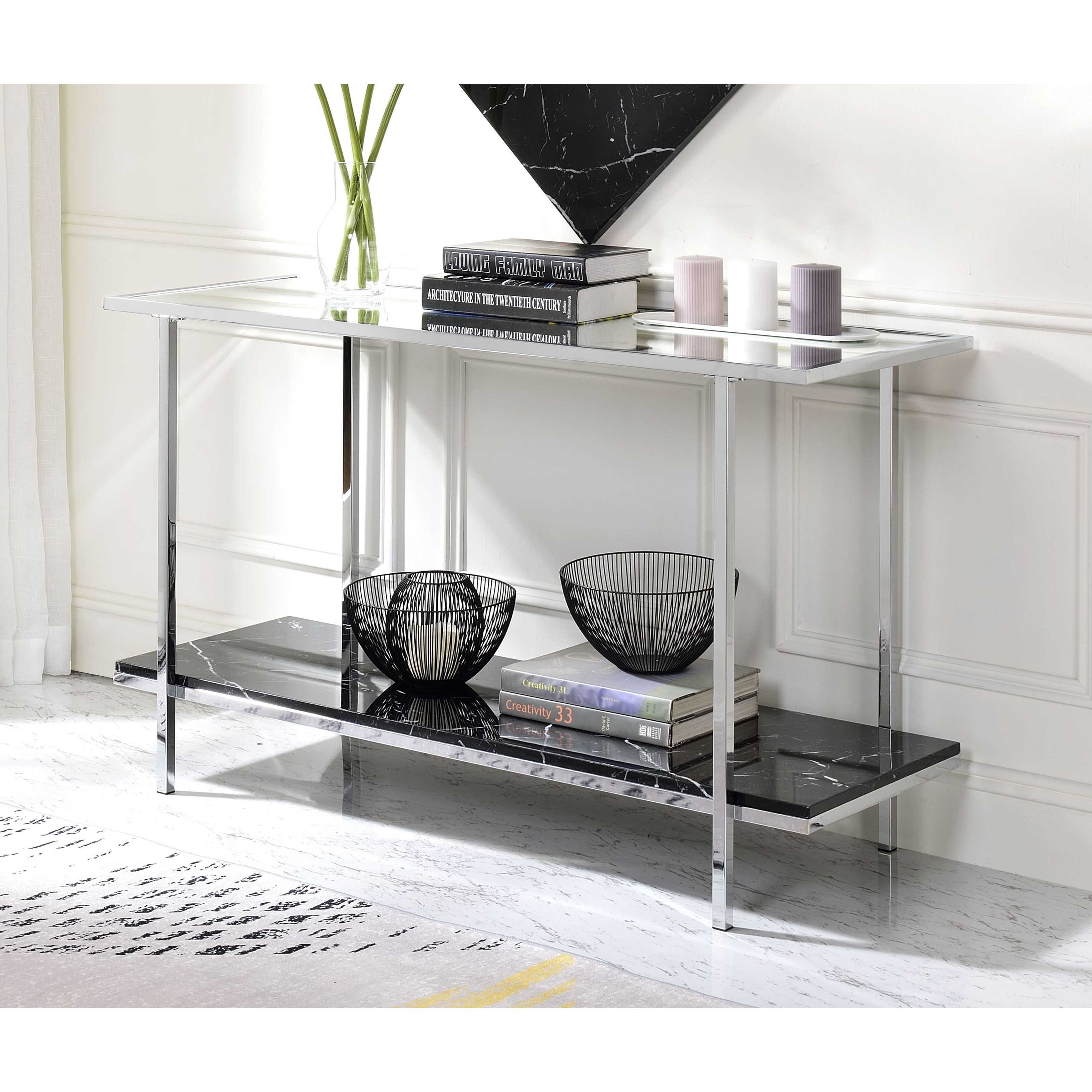 Angwin Console Table by Acme Furniture at Carolina Direct