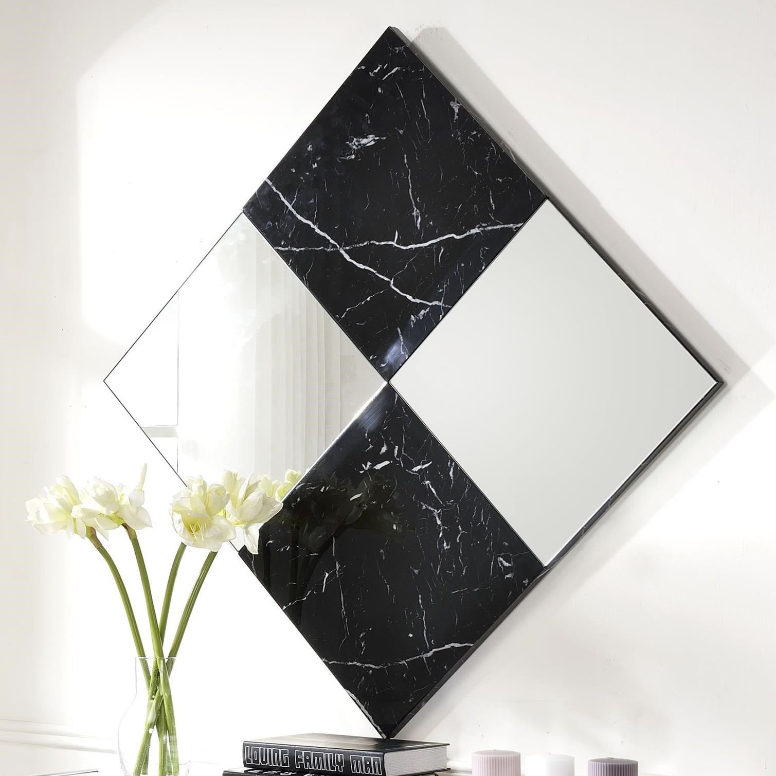 Angwin Accent Wall Mirror by Acme Furniture at Carolina Direct